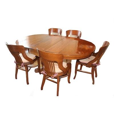 Vintage Oak Dining Set
