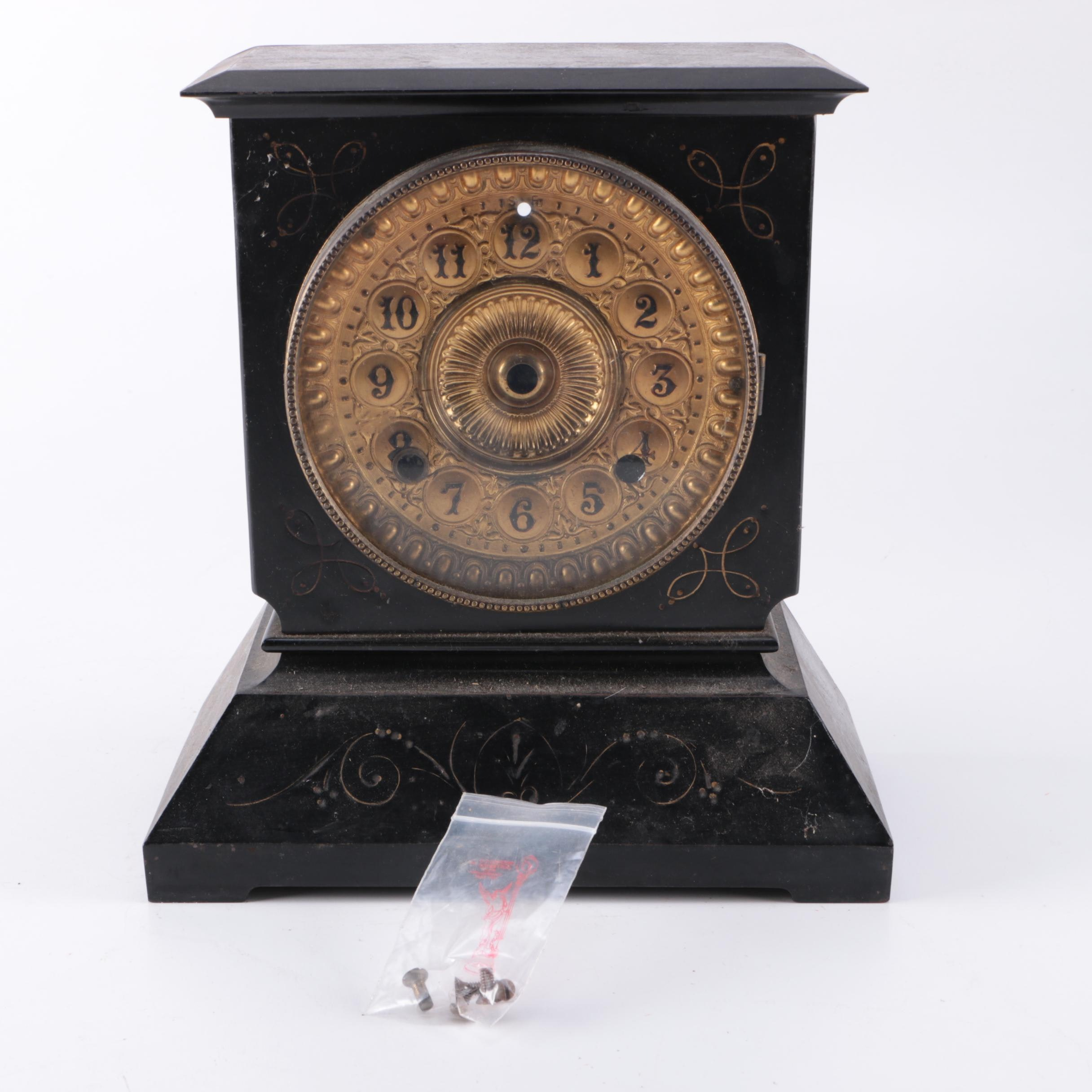American Mantle Clock Body