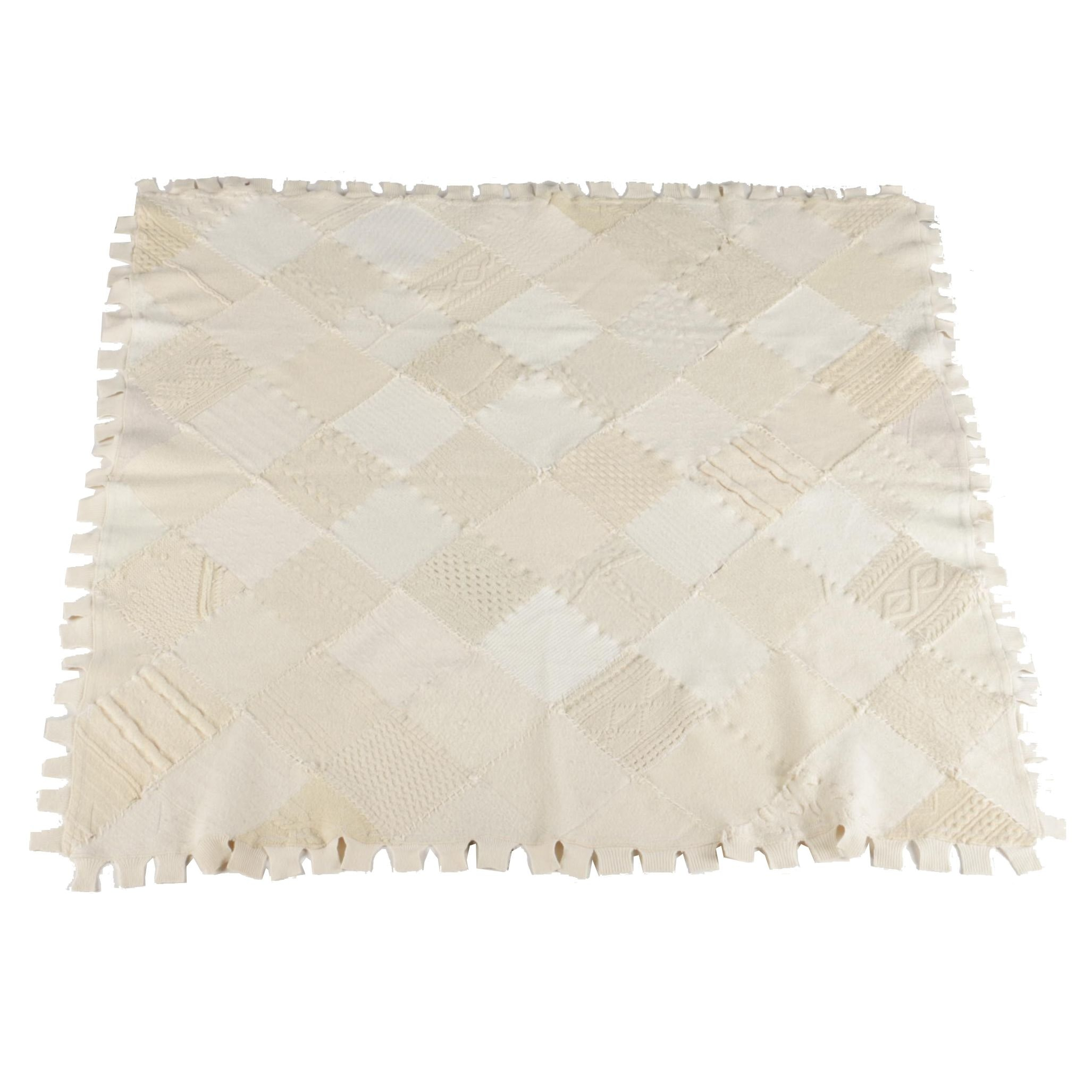 Chrispina Ffrench Handmade Recycled Wool Throw