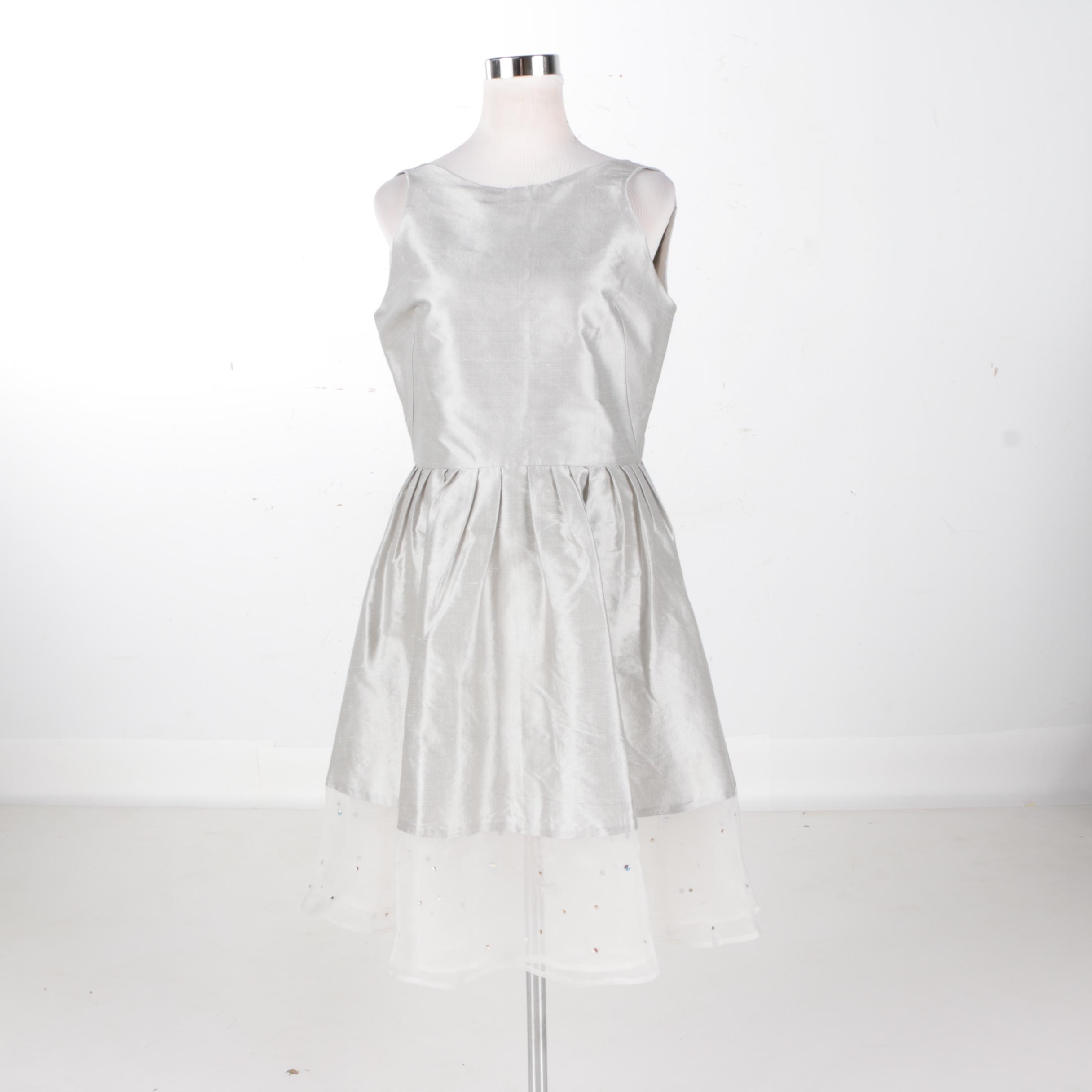 Abbey Glass Gray Florence Dress