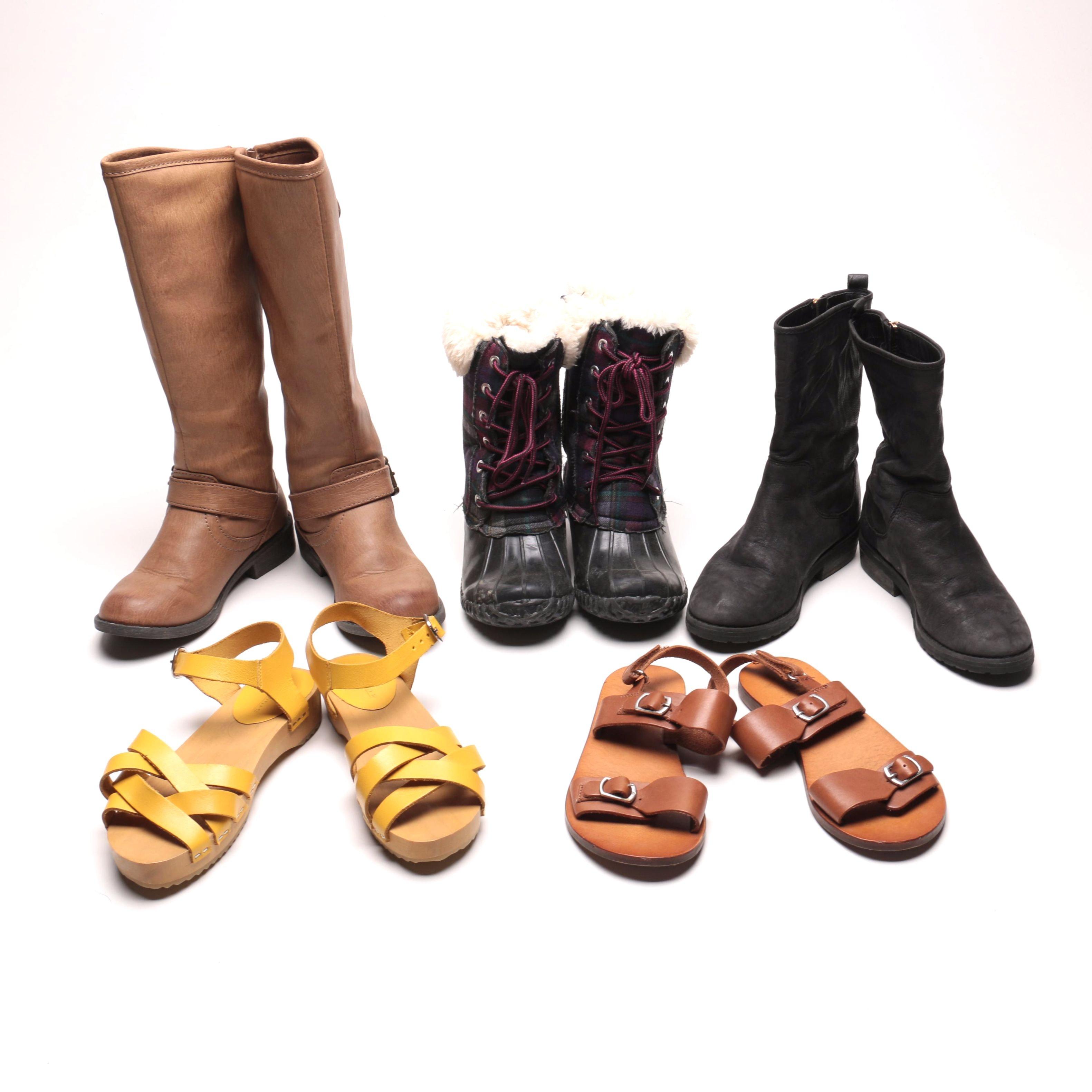 Assortment Of Children's Shoes