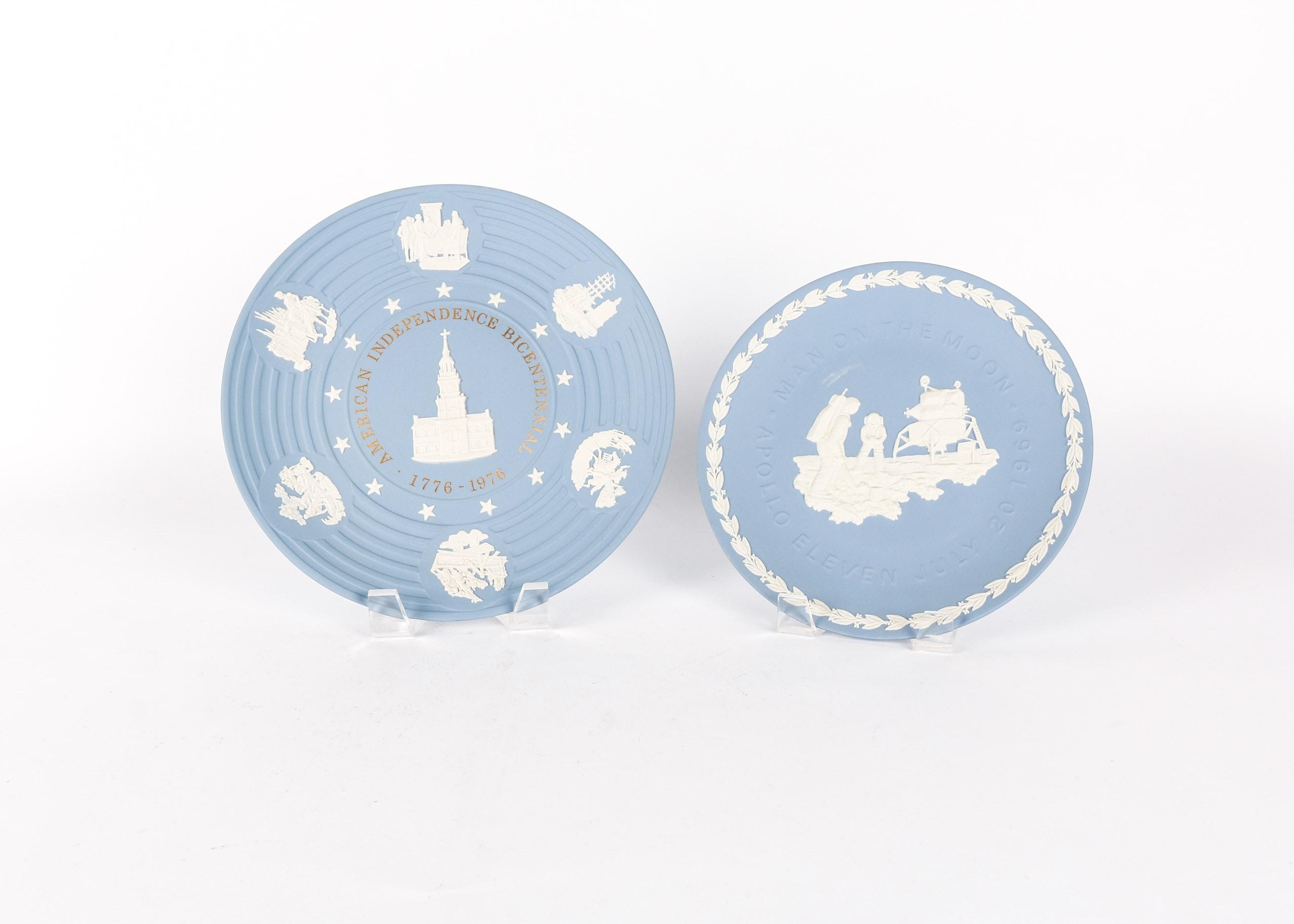 Vintage Wedgwood Americana Plates