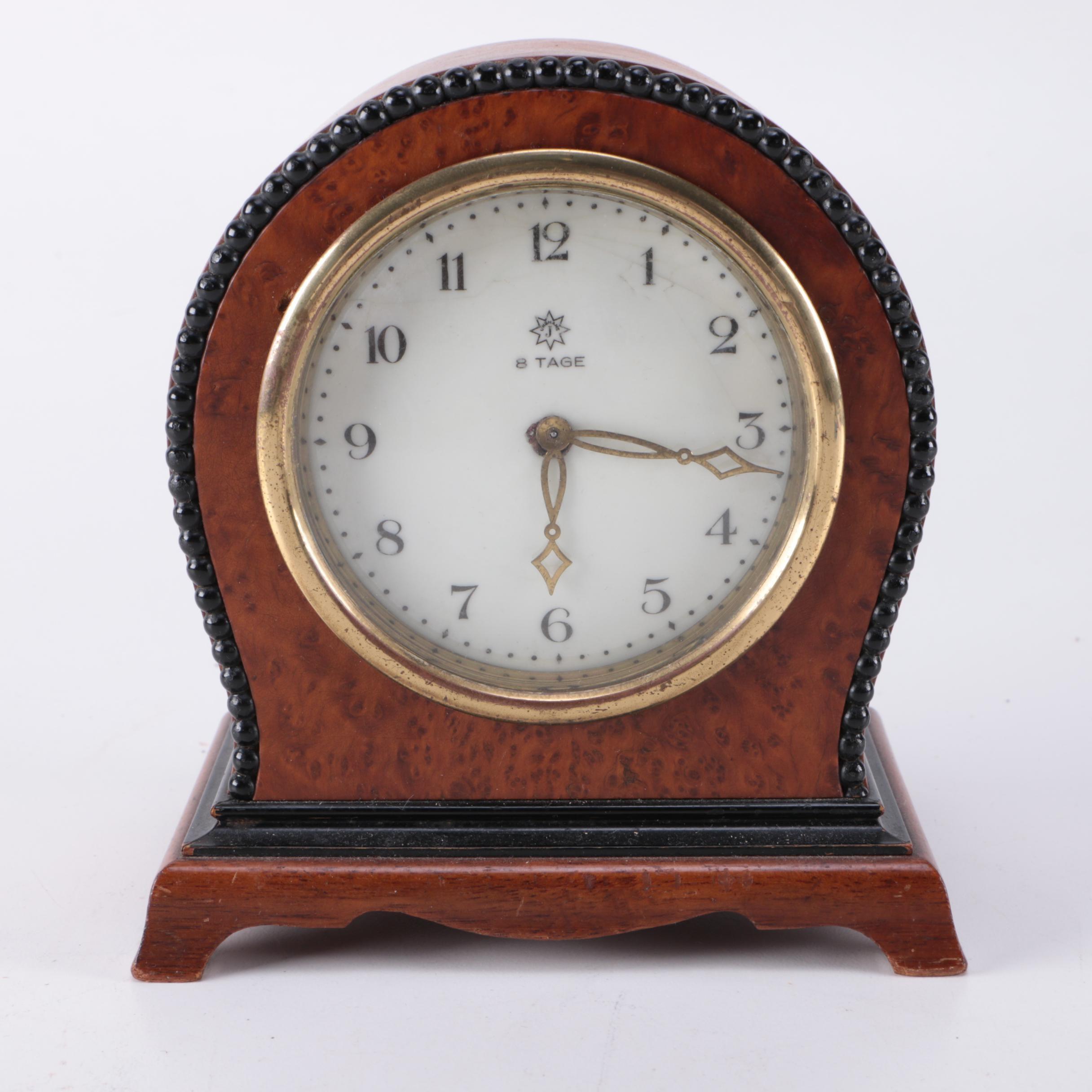 8-Tage Mantle Clock
