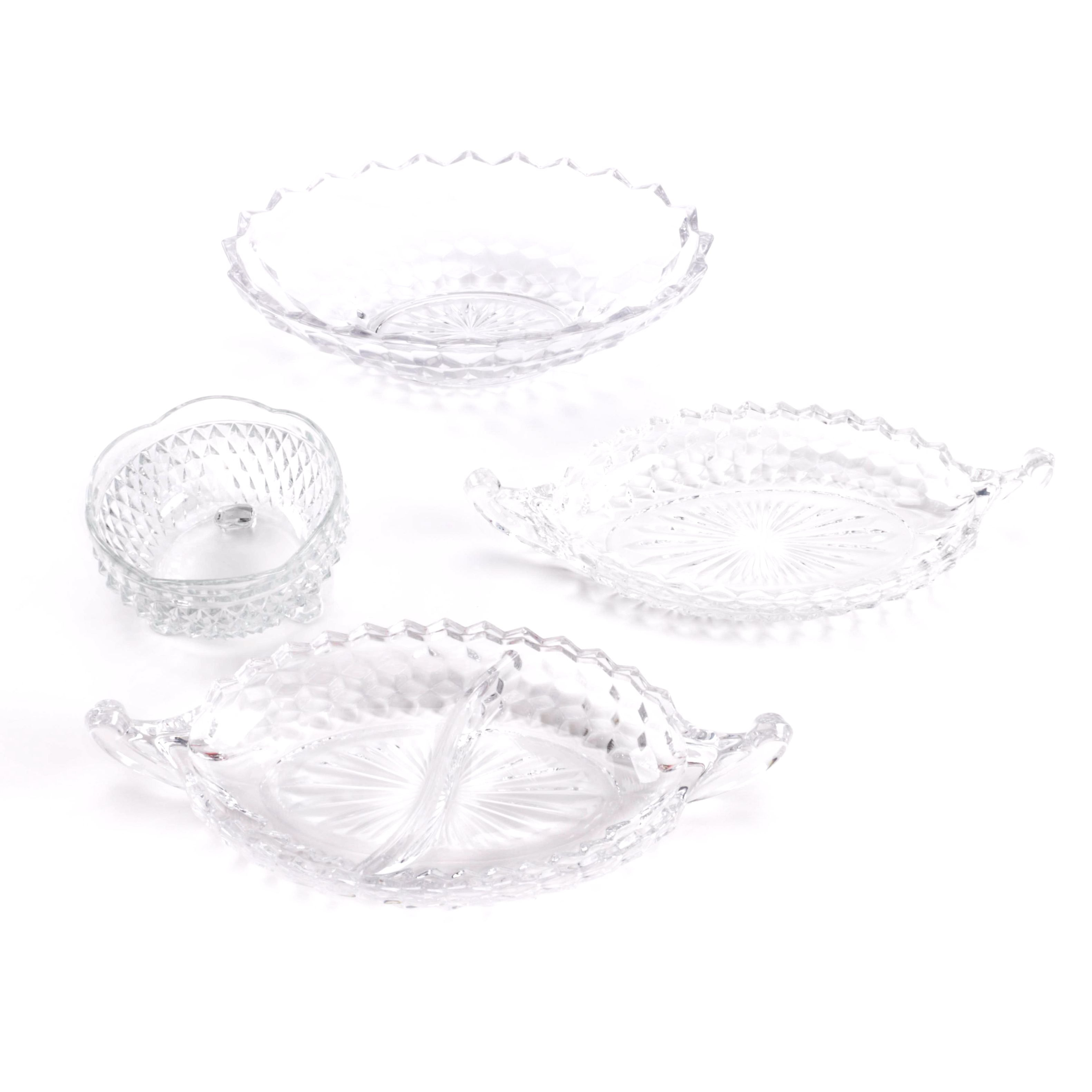 Ornate Glass Dishes