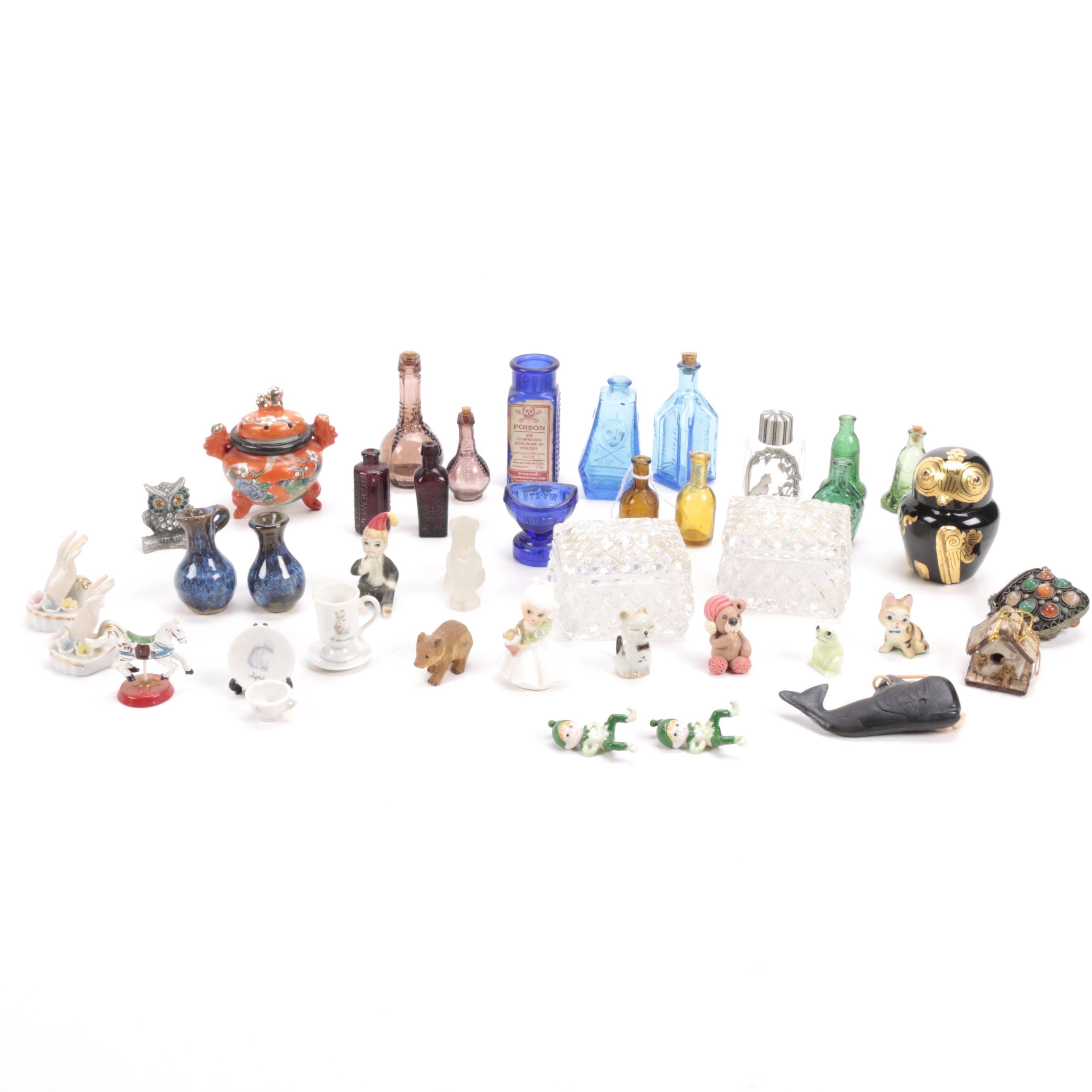 Collection Trinkets and Figurines
