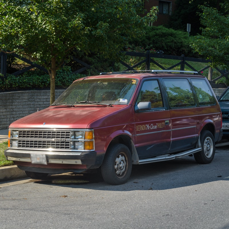 Dodge Credit Card >> 1985 Dodge Caravan SE Minivan : EBTH