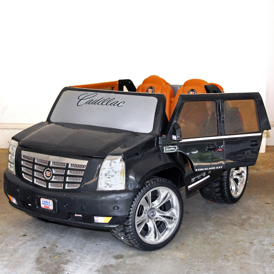 Toy Cadillac Escalade Electric Car
