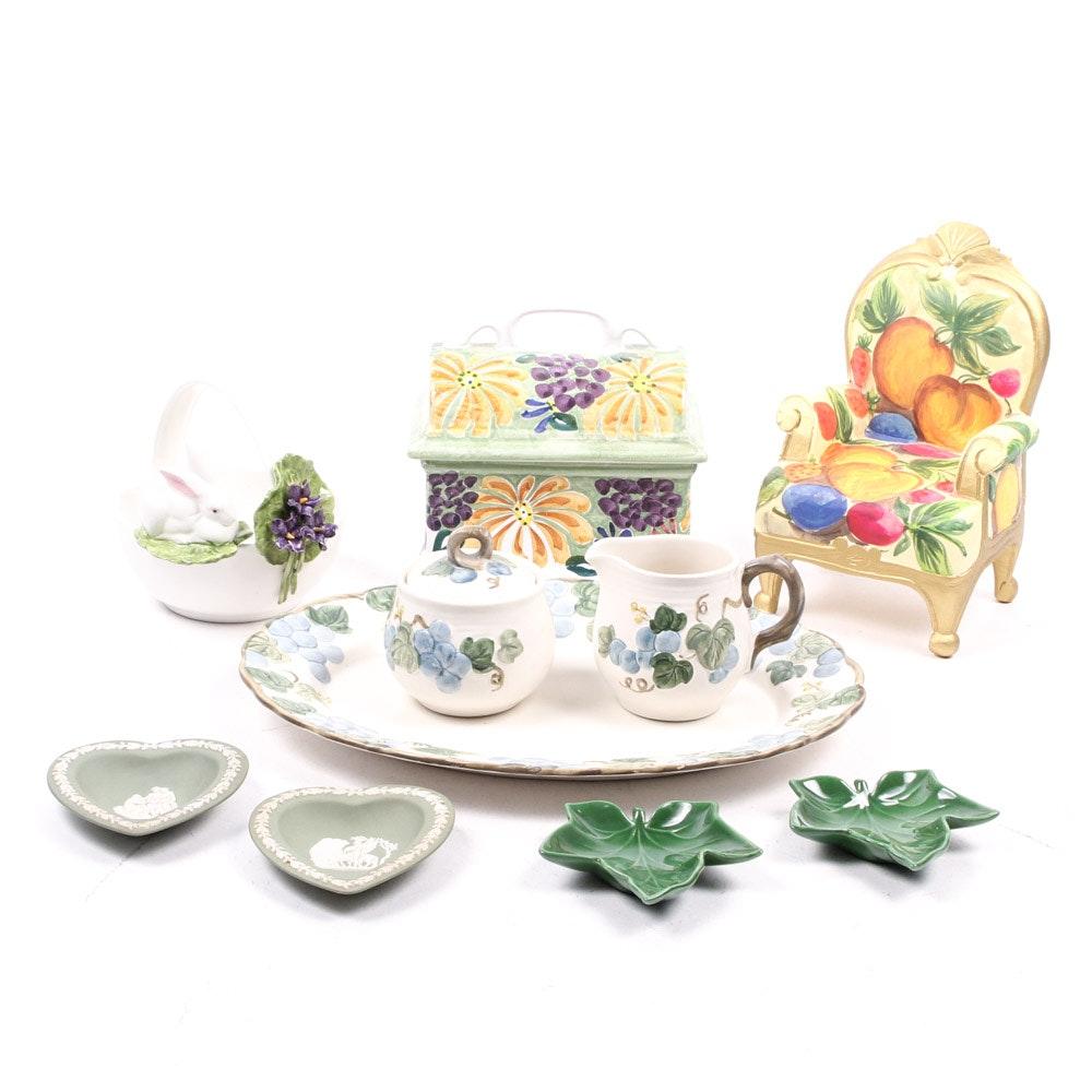 Poppy Trail by Metlox, Wedgwood, Franciscan Ceramics