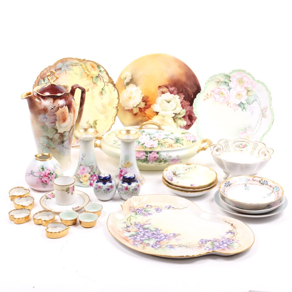 Vintage Hand Painted China Assortment