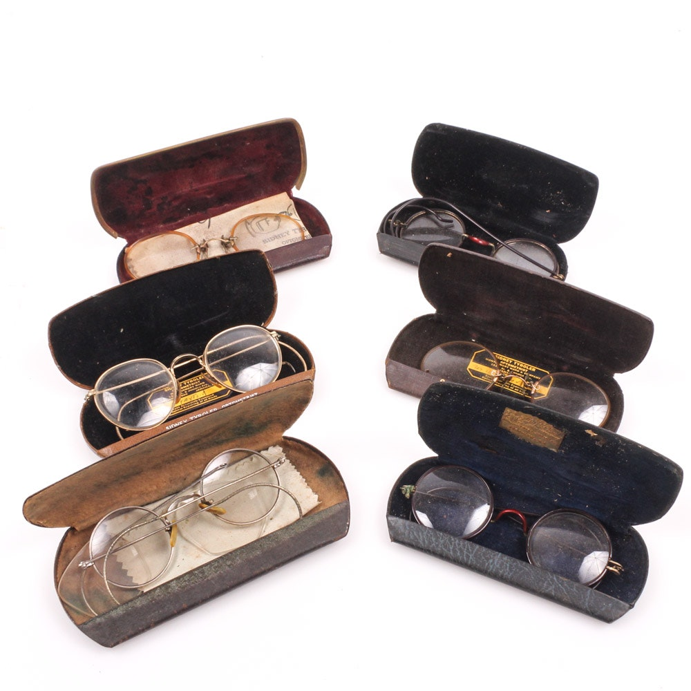 Collection of Vintage Eyeglasses