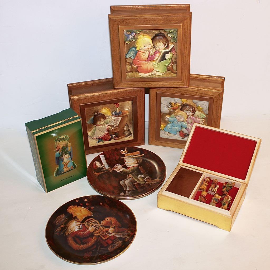 Italian Anri Ferrandiz Music Box Collection with Limited Editions