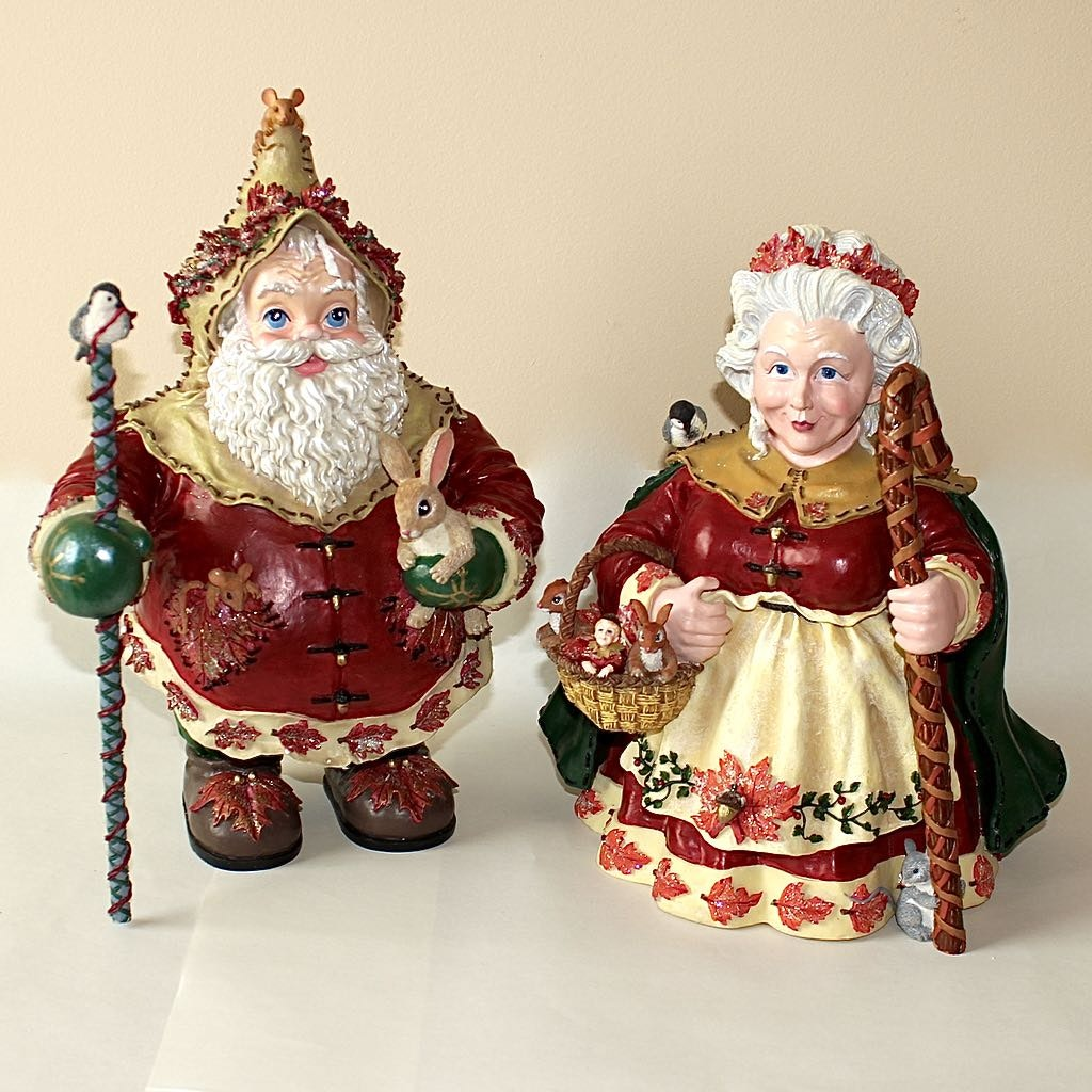 Christopher Radko Limited Frosty and Nana Leaf Collectibles