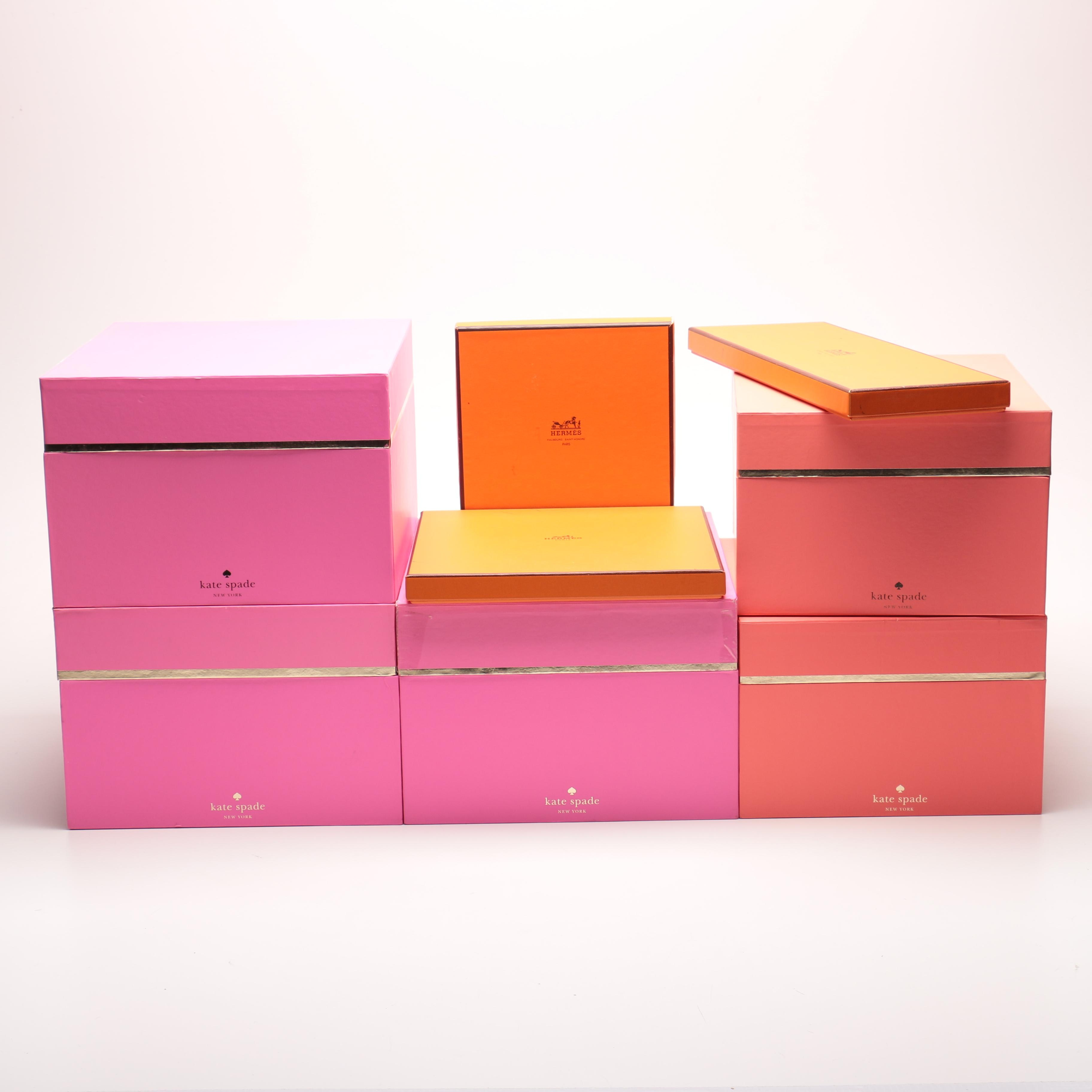 Charmant Kate Spade And Hermès Storage Boxes ...