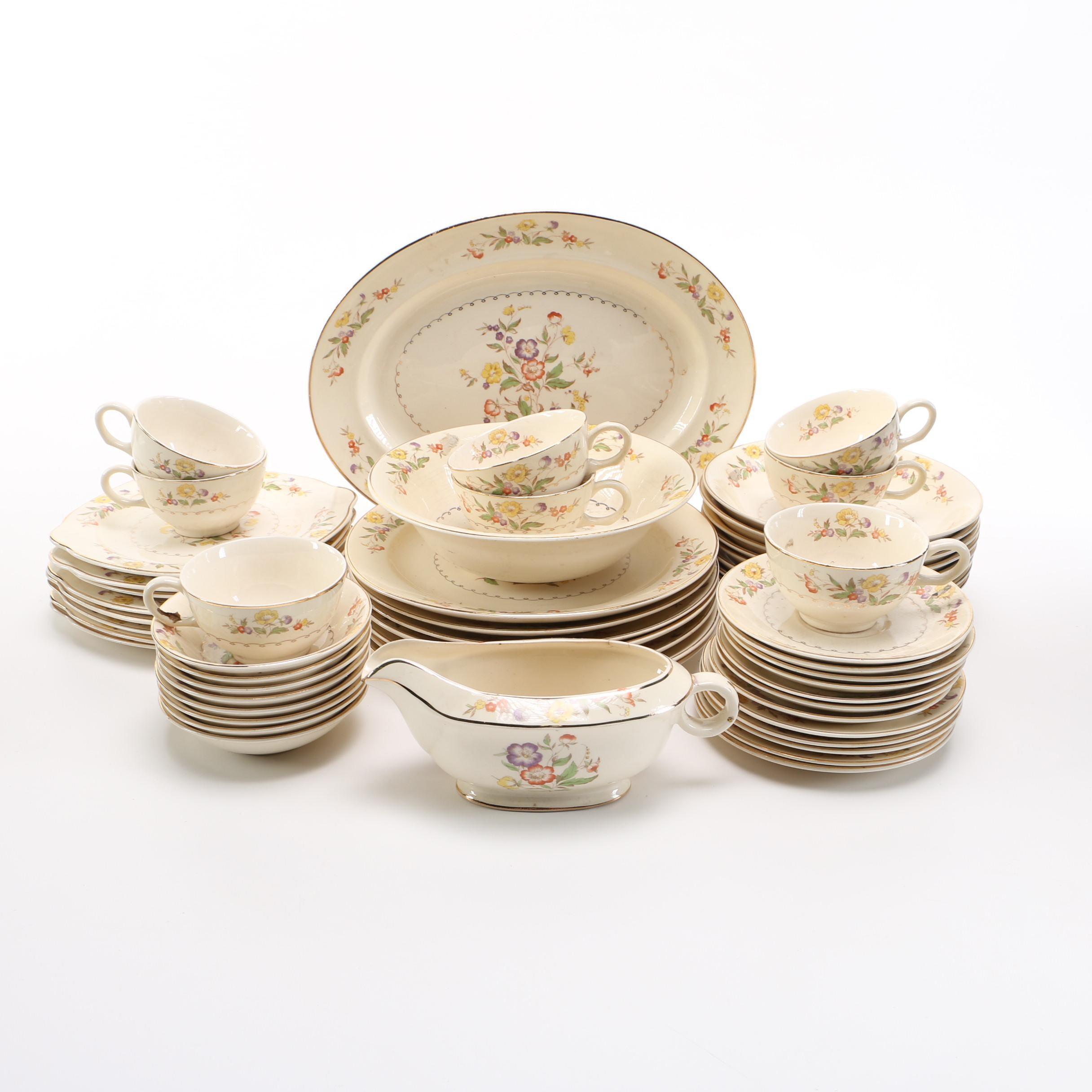 Set of Paden City Pottery Dinnerware ...  sc 1 st  EBTH.com & Set of Paden City Pottery Dinnerware : EBTH