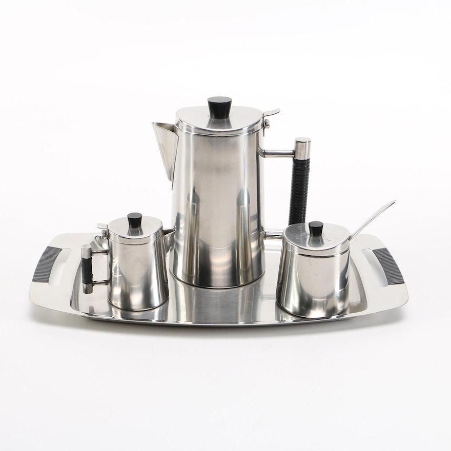 Oneida Stainless Steel Coffee Set