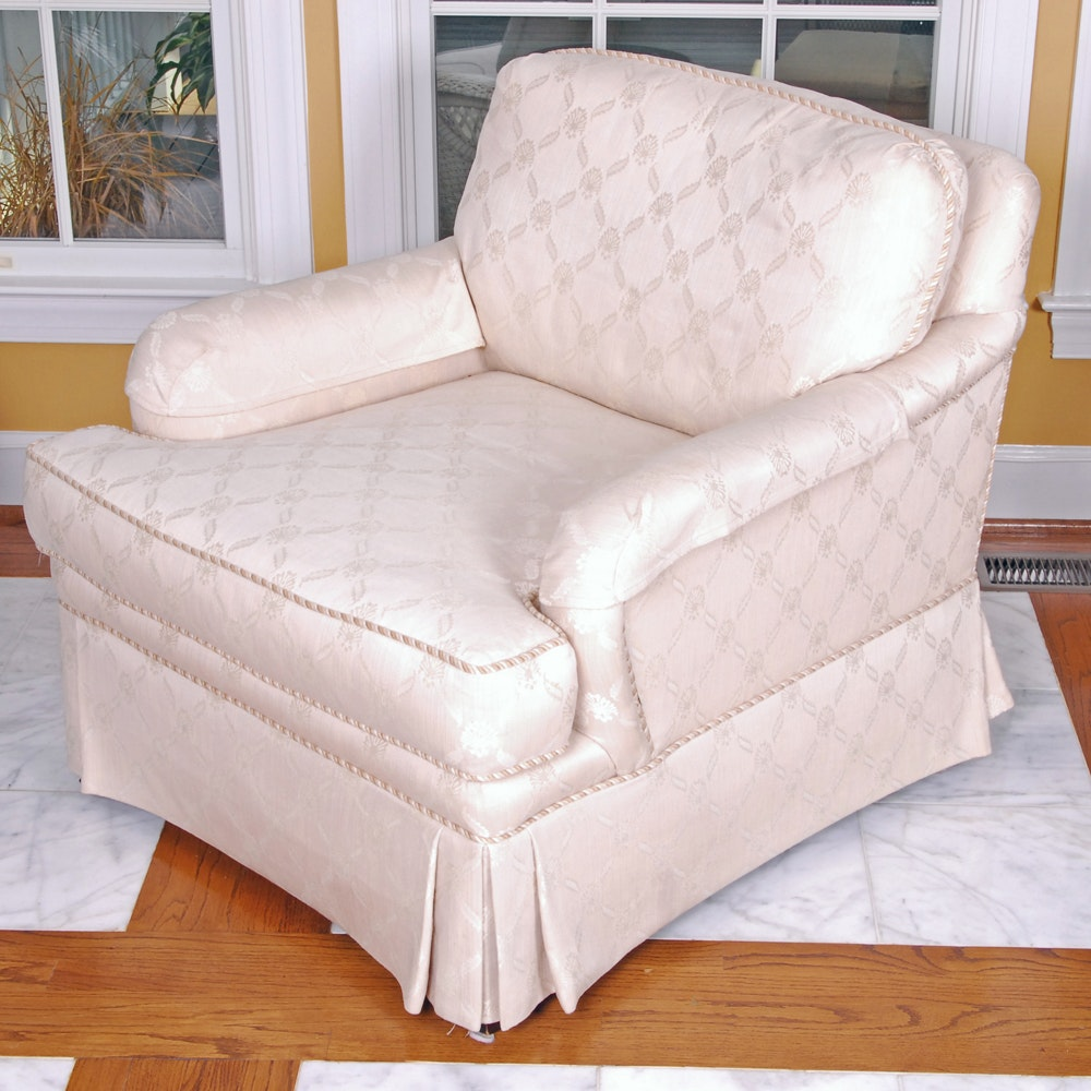 Cream Tone Accent Chair by Highland House