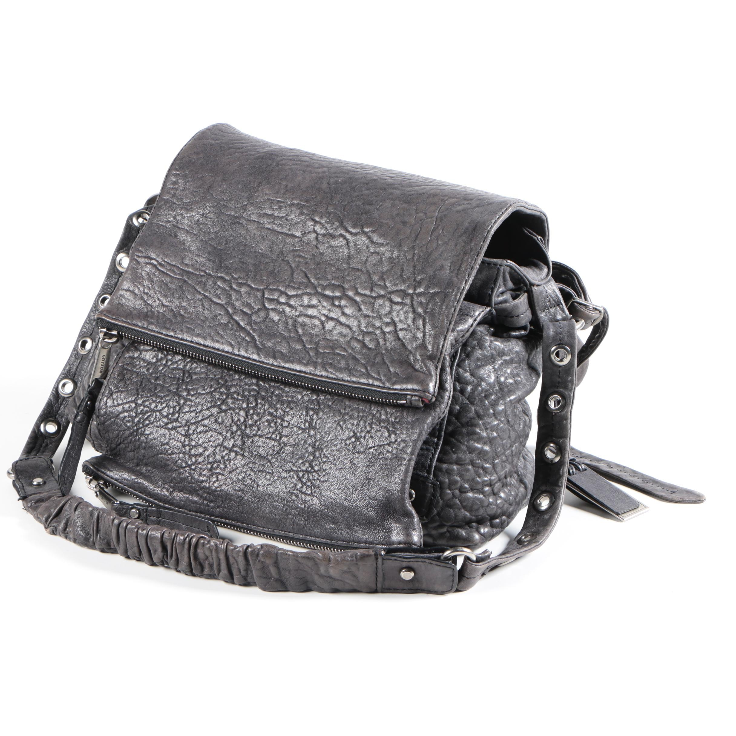 Gryson Black Leather Handbag