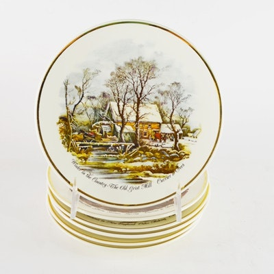 """Currier and Ives """"Four Seasons"""" Limited Edition Plates"""