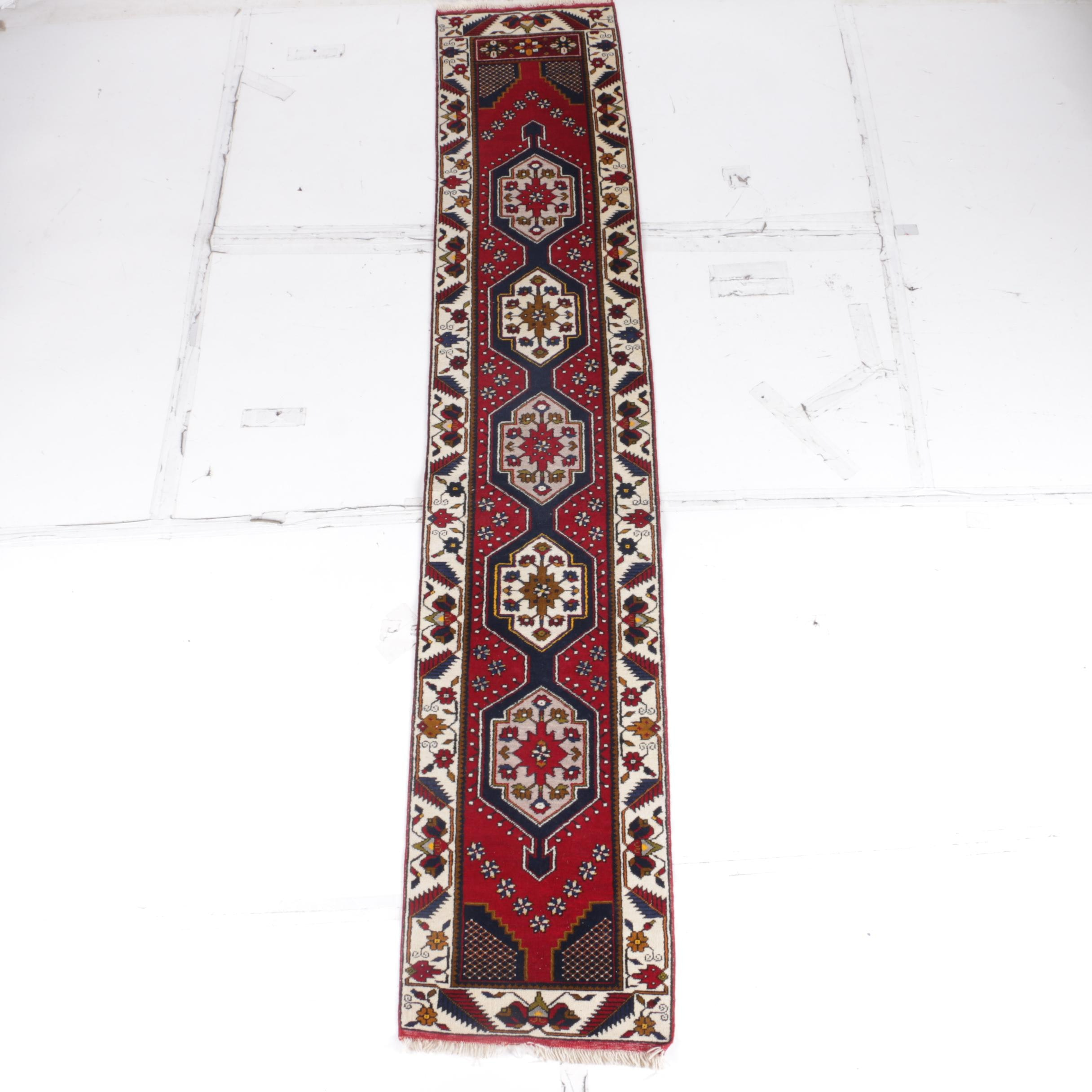 Hand-Knotted Anatolian Runner