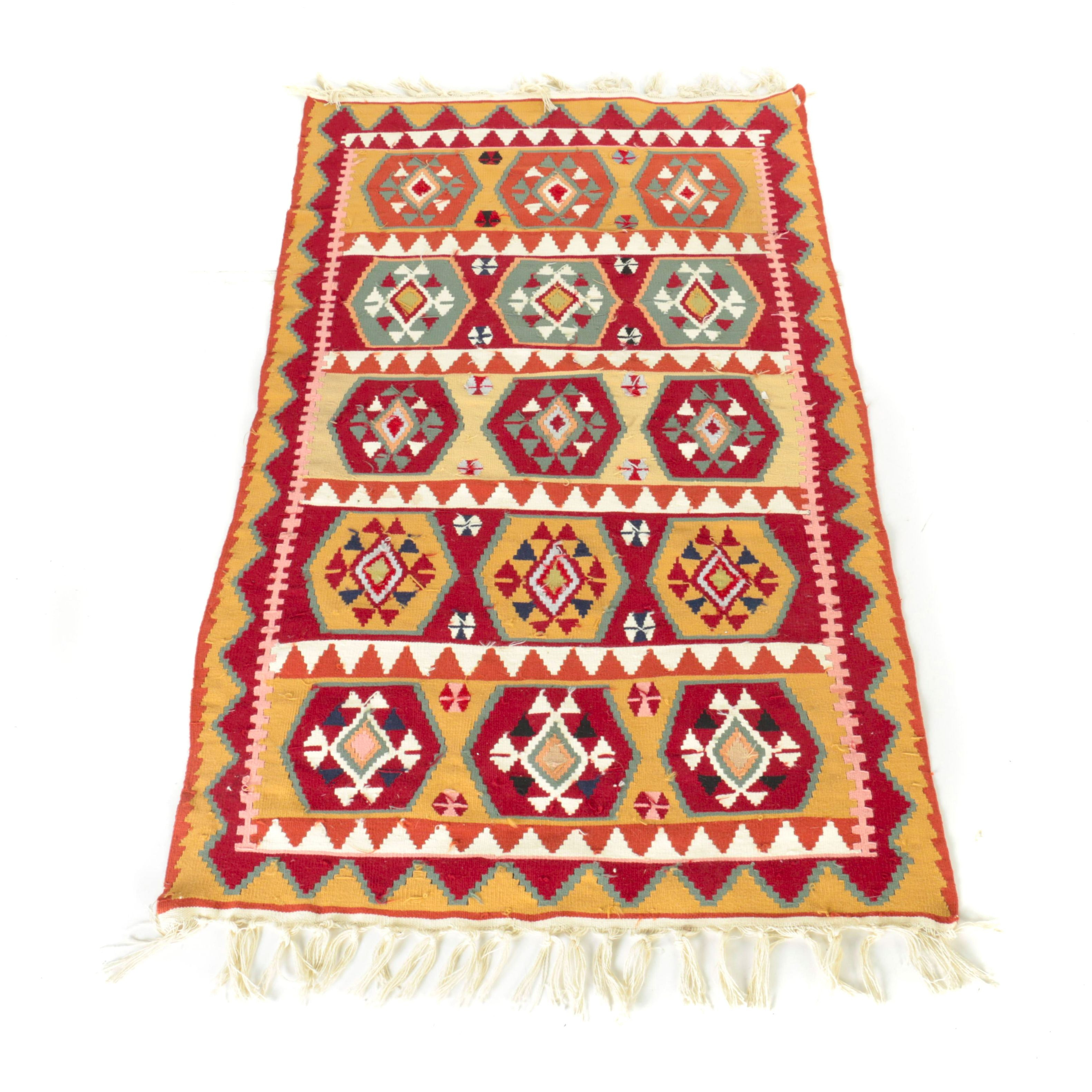Handwoven Turkish Kilim