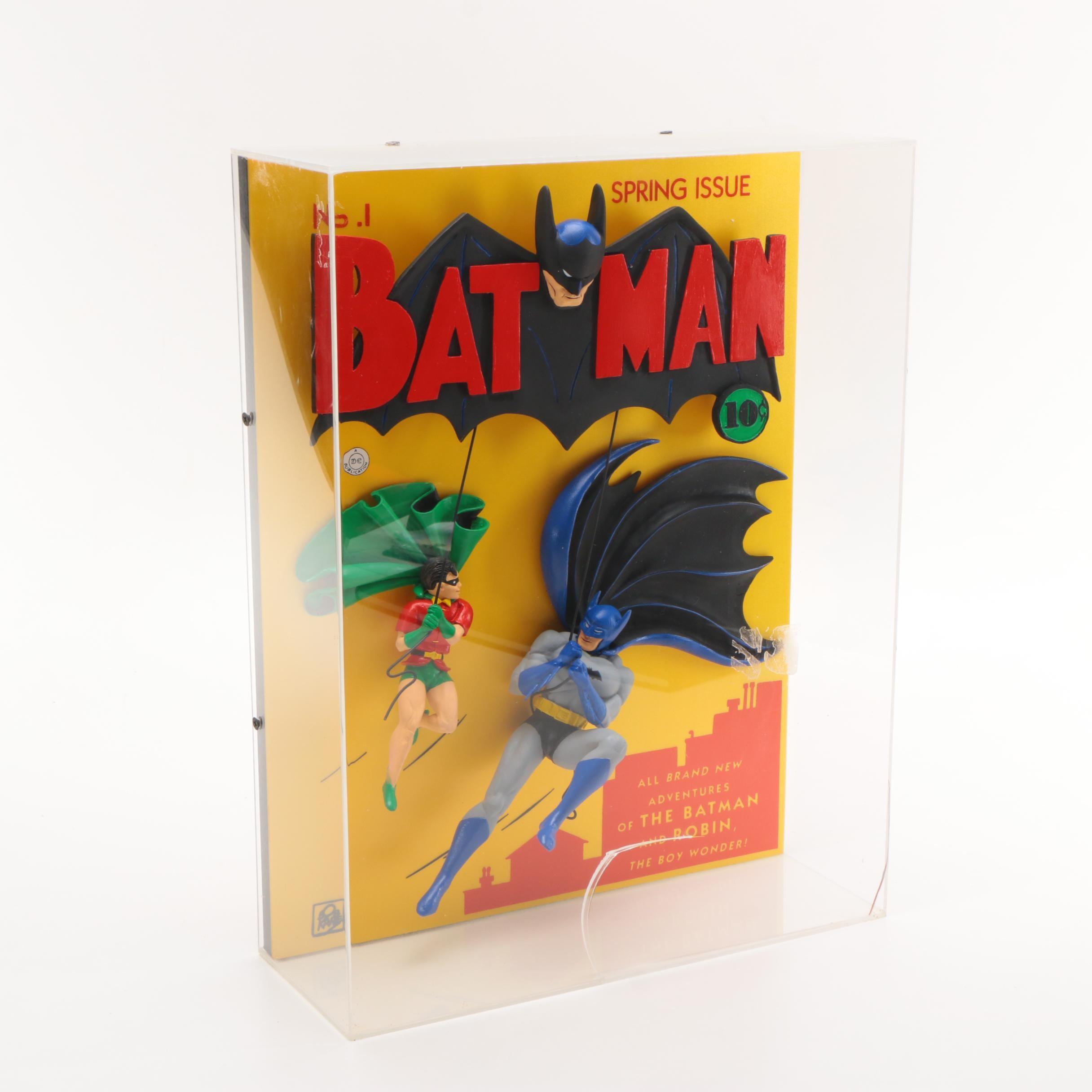 """1995 Warner Bros. Limited Edition Relief """"Batman #1"""""""