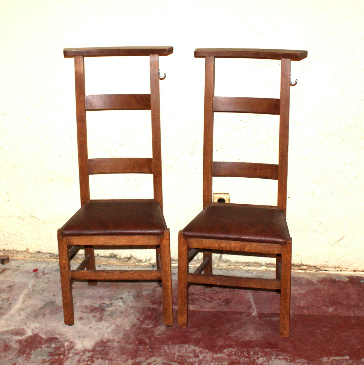 Vintage Prayer Chairs