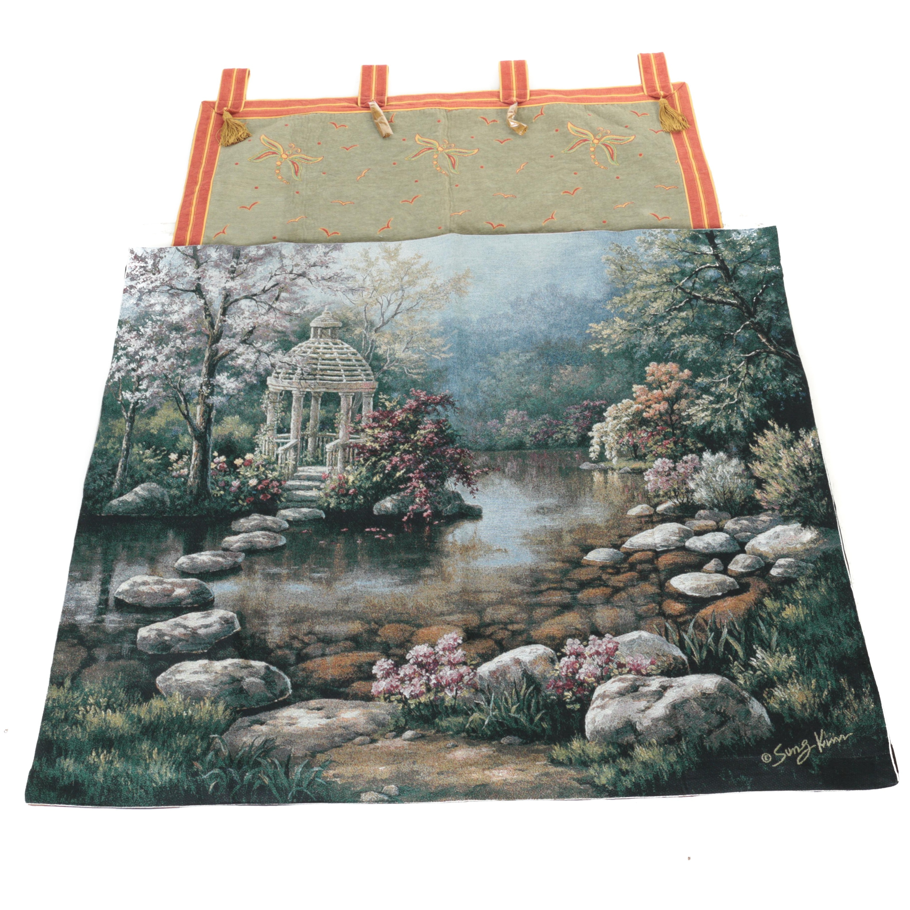Needlepoint Wall Tapestries Including Sung Kim