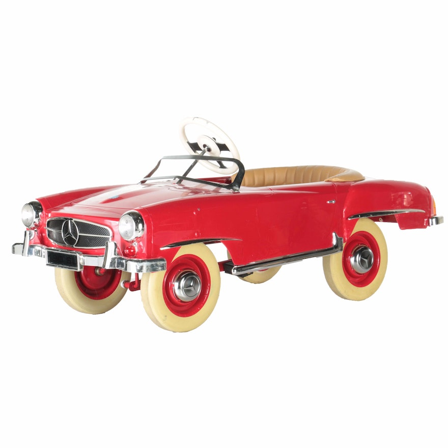 After mercedes benz 190sl toy model pedal car ebth for Mercedes benz toy car models