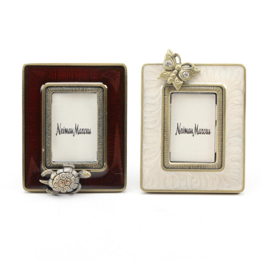 Enamel and Rhinestone Miniature Frames by Jay Strongwater : EBTH