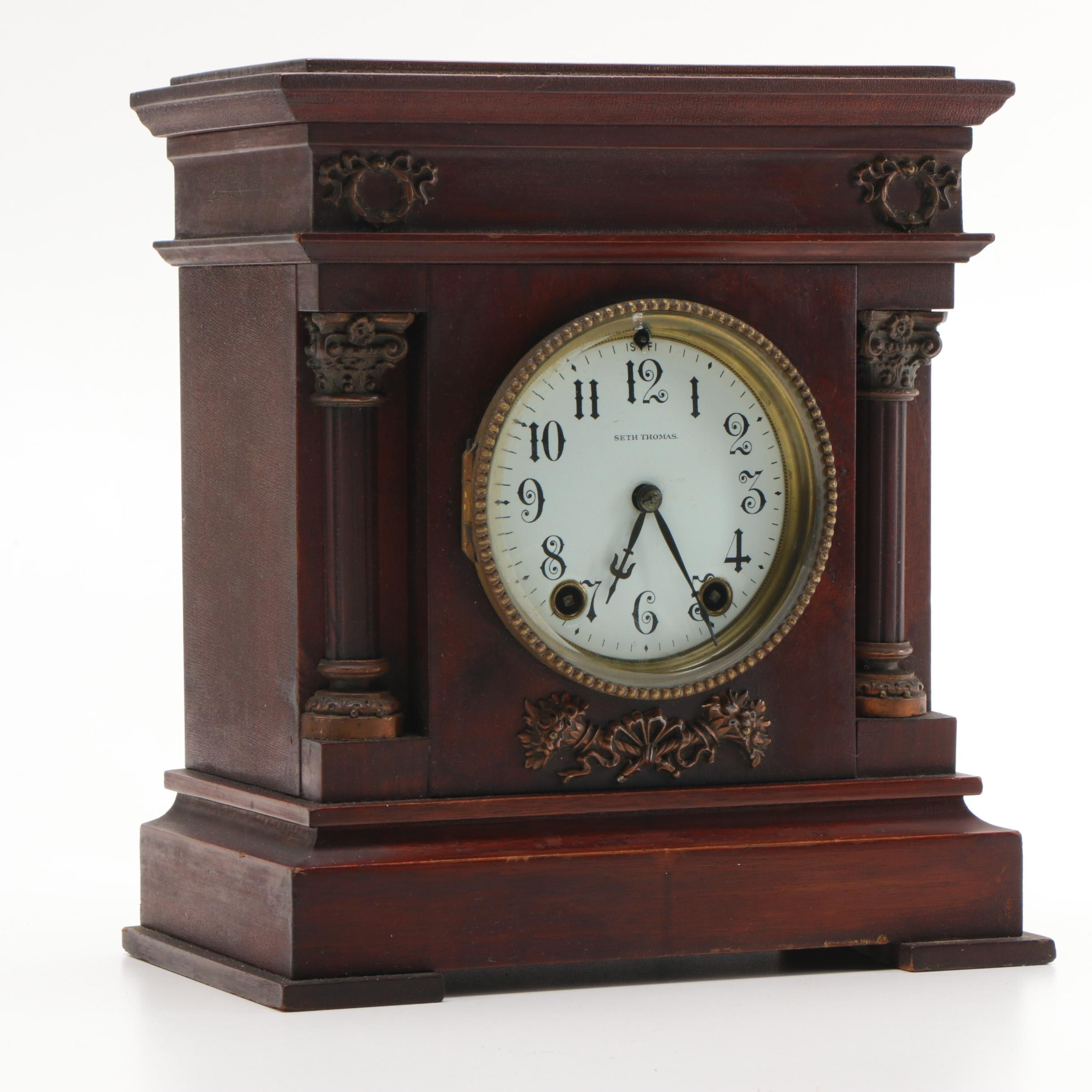 Seth Thomas analog mantle clock