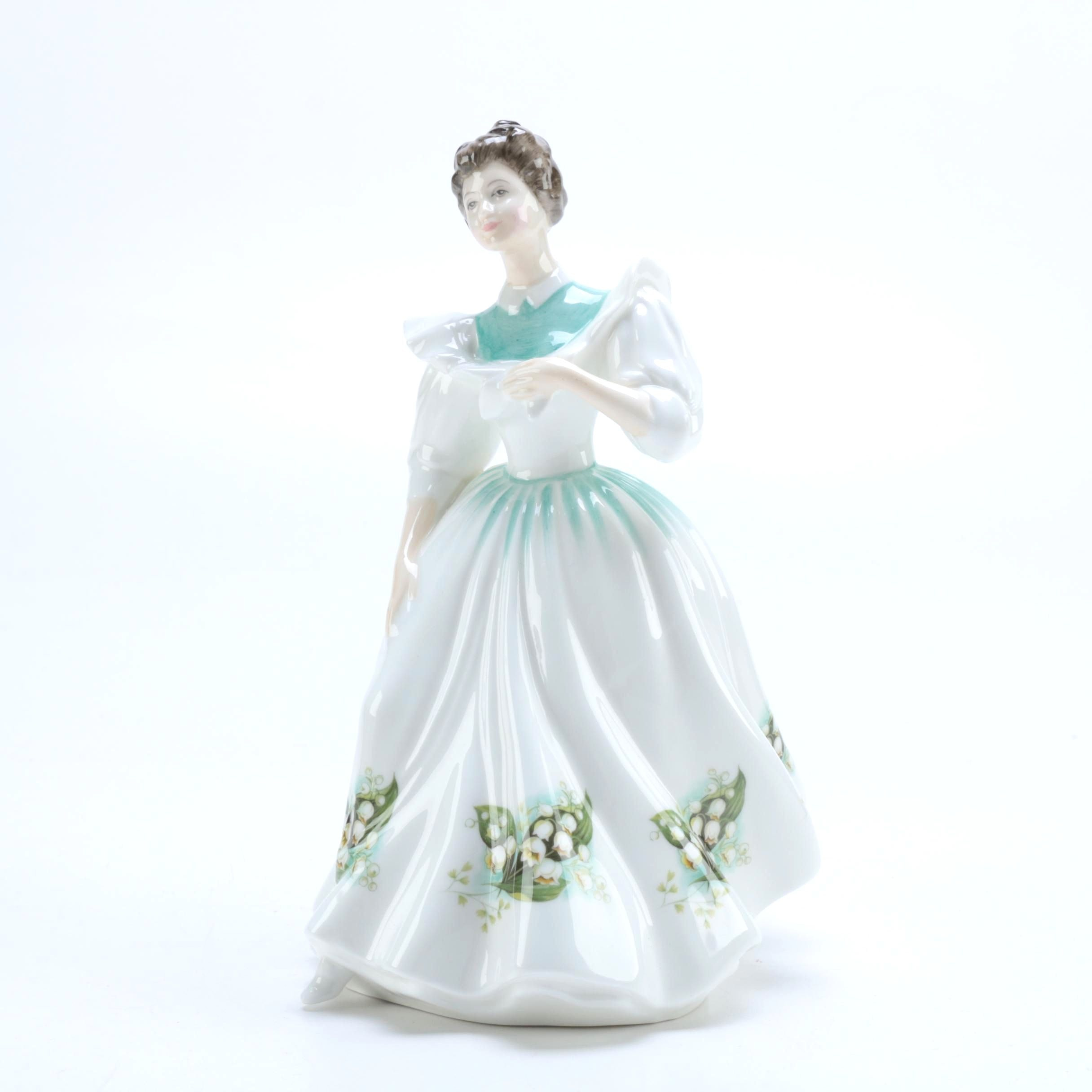 "Royal Doulton Figure of the Month ""May"""