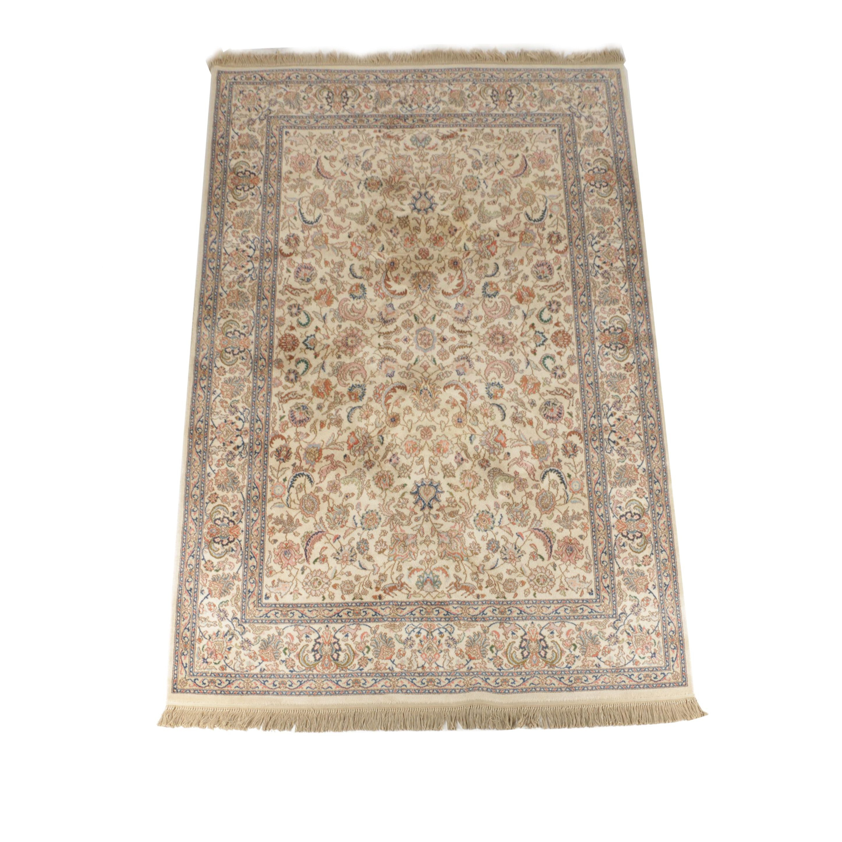 Machine Made Karastan Tabriz Area Rug