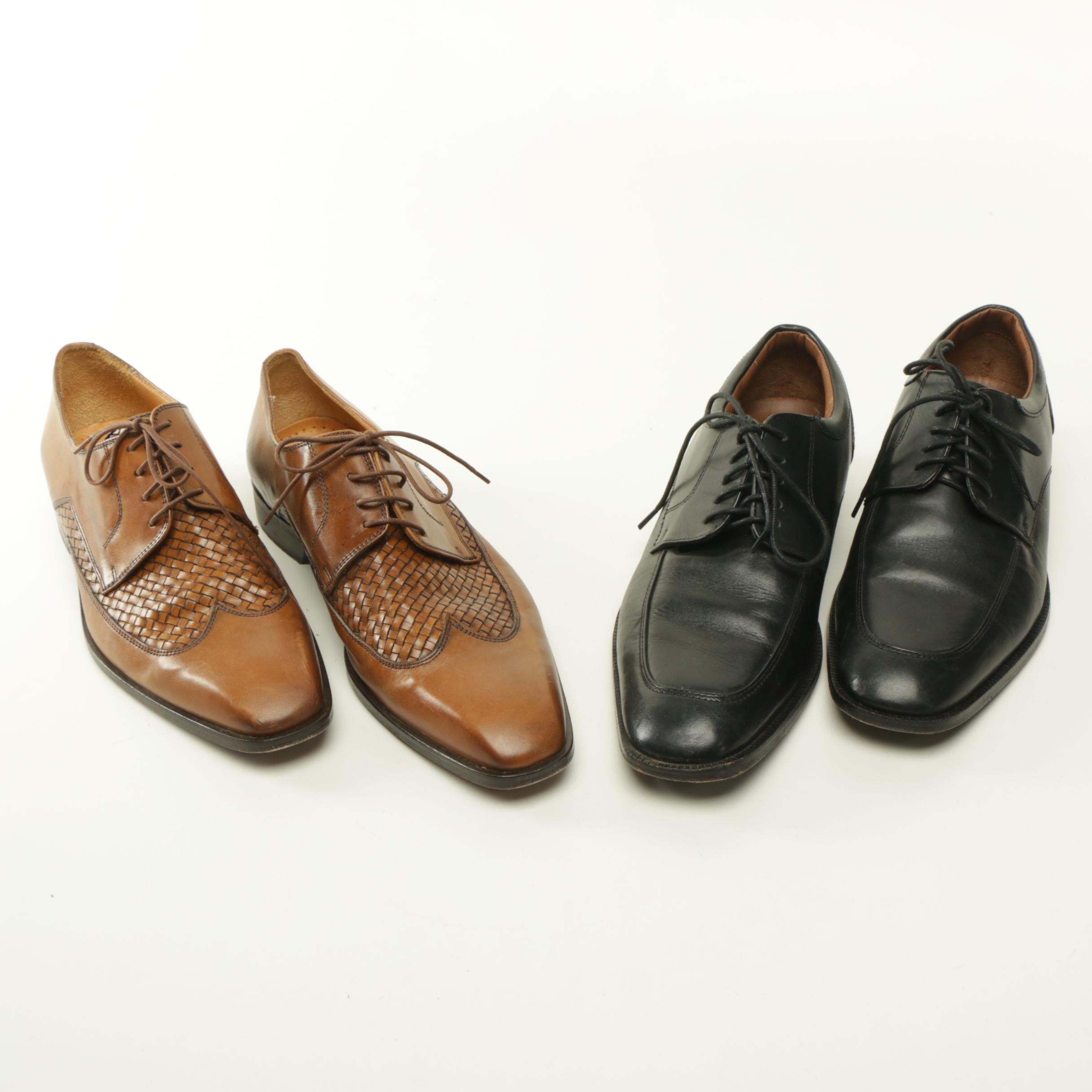 Men's Leather Dress Shoes Including Saks Fifth Avenue Wingtips
