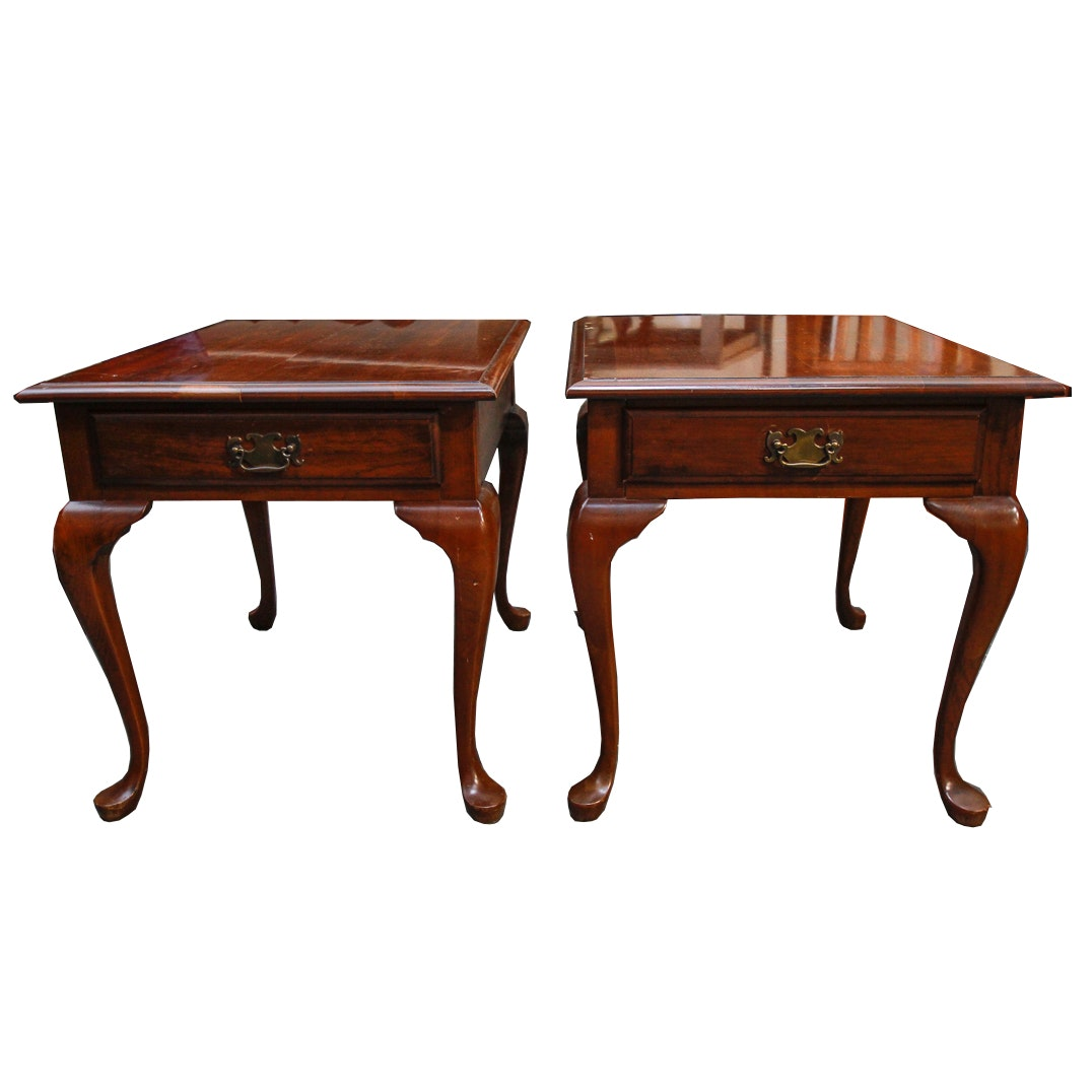 Queen Anne Style Side Tables By Pennsylvania House ...
