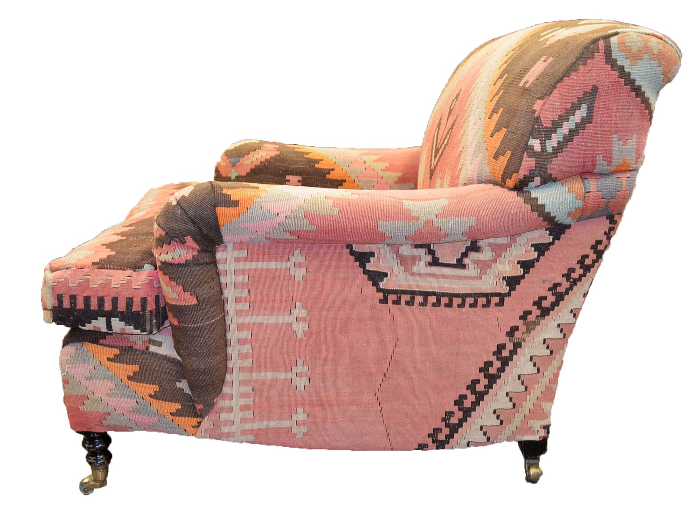 Kilim Upholstered Armchairs : EBTH