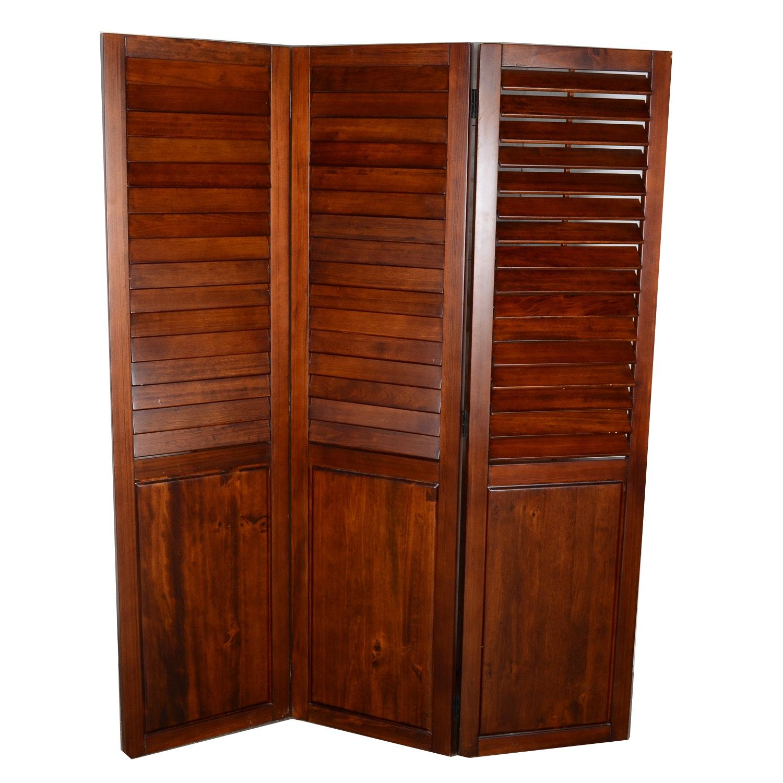 Pier 1 Plantation Style Room Divider EBTH