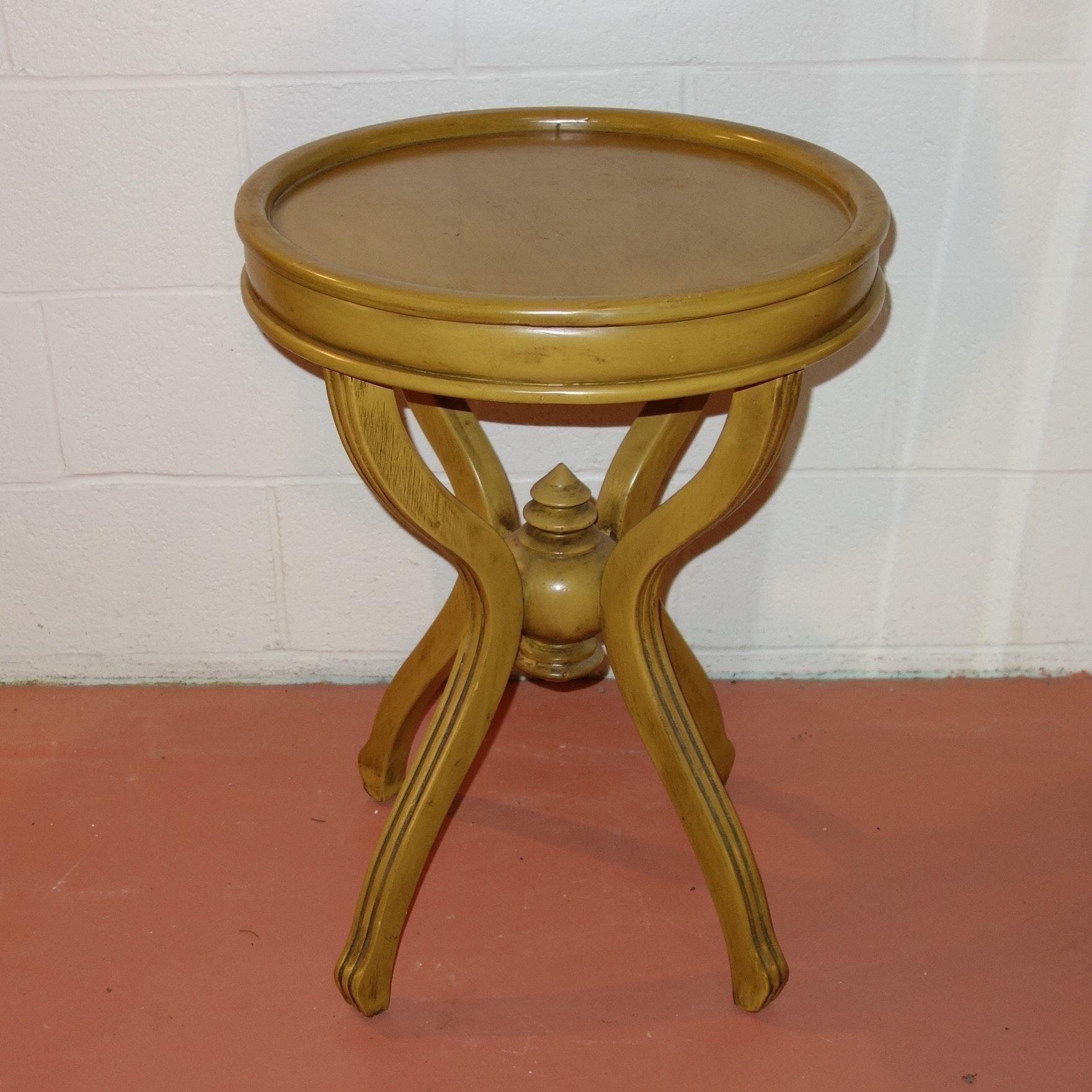 Vintage Round Side Table
