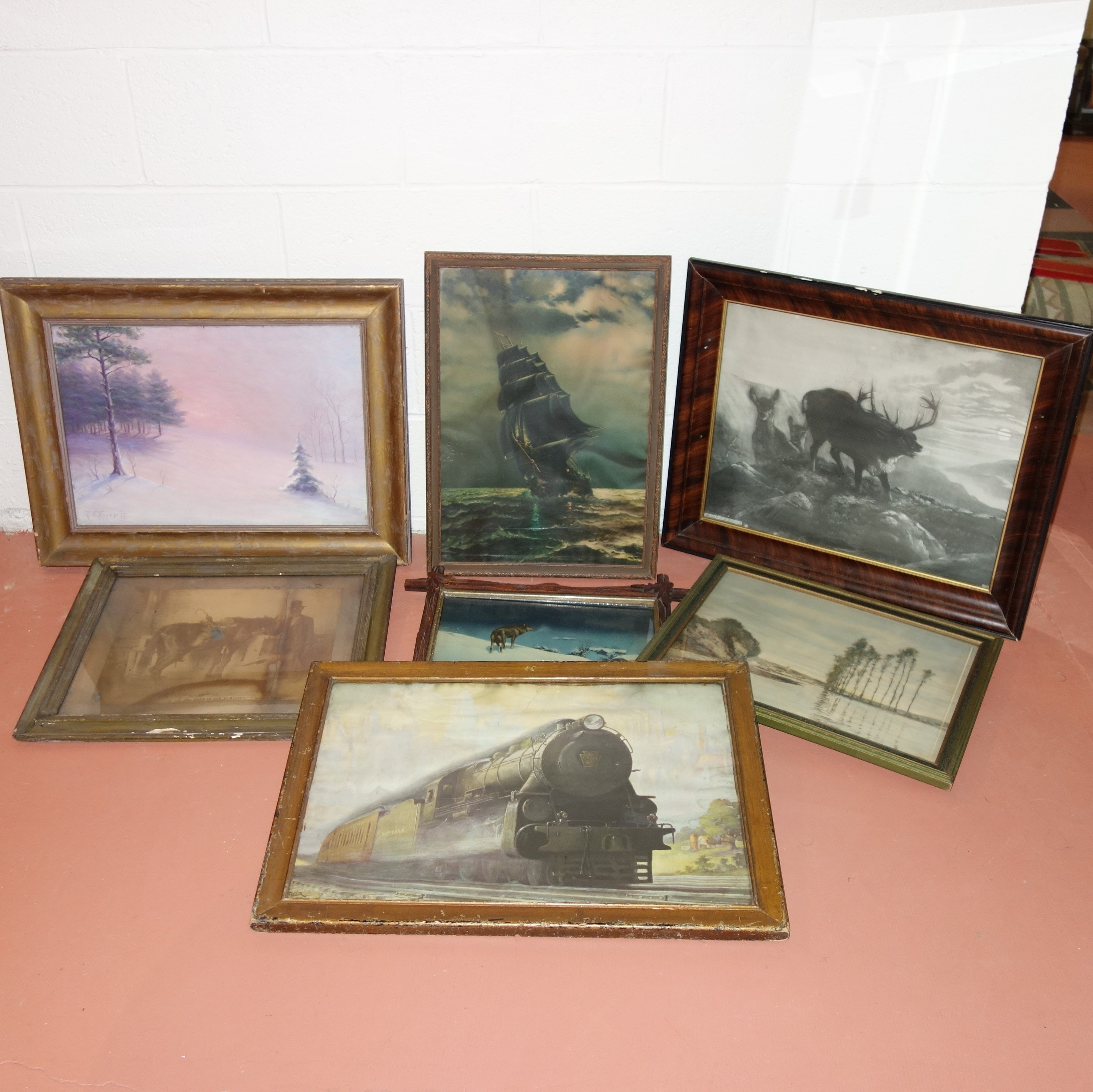 Vintage Framed Print Collection