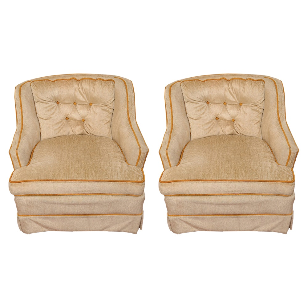 Pair of Accent Chairs by Montclair Furniture