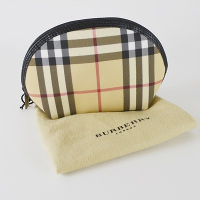 New Burberry Cosmetic Bag