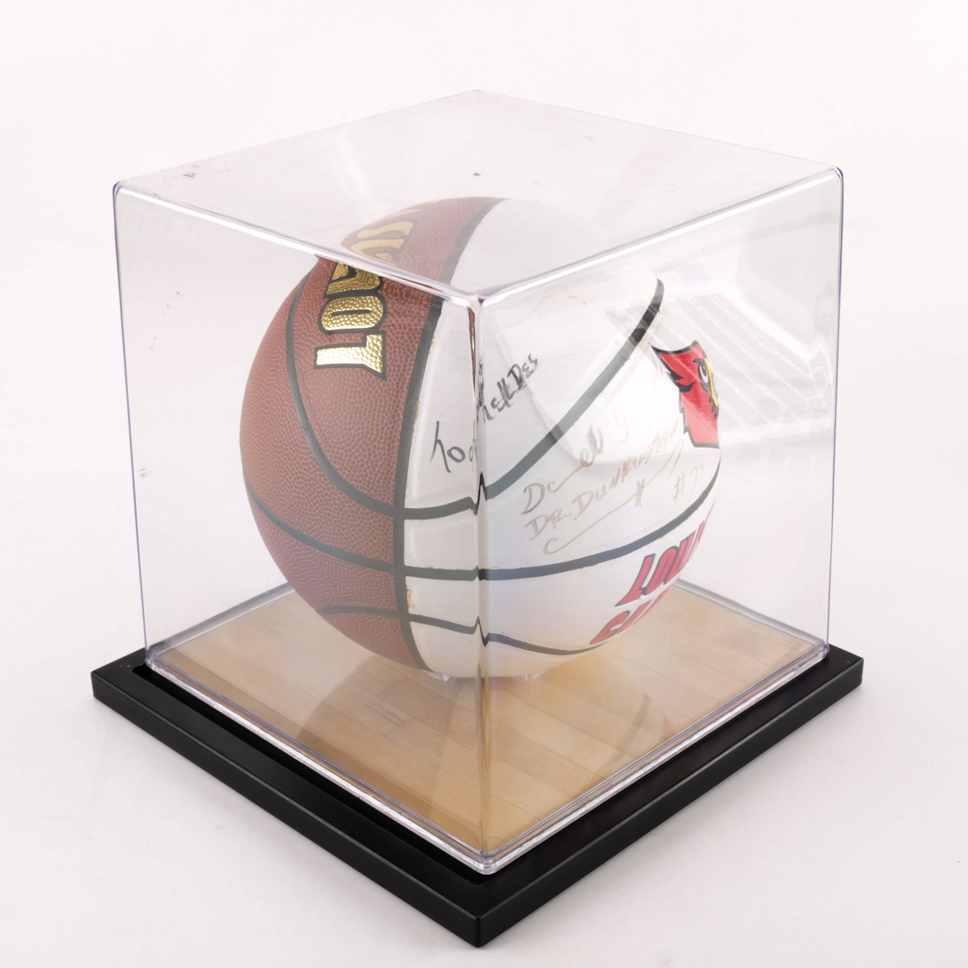 Darrell Griffith Autographed Louisville Basketball