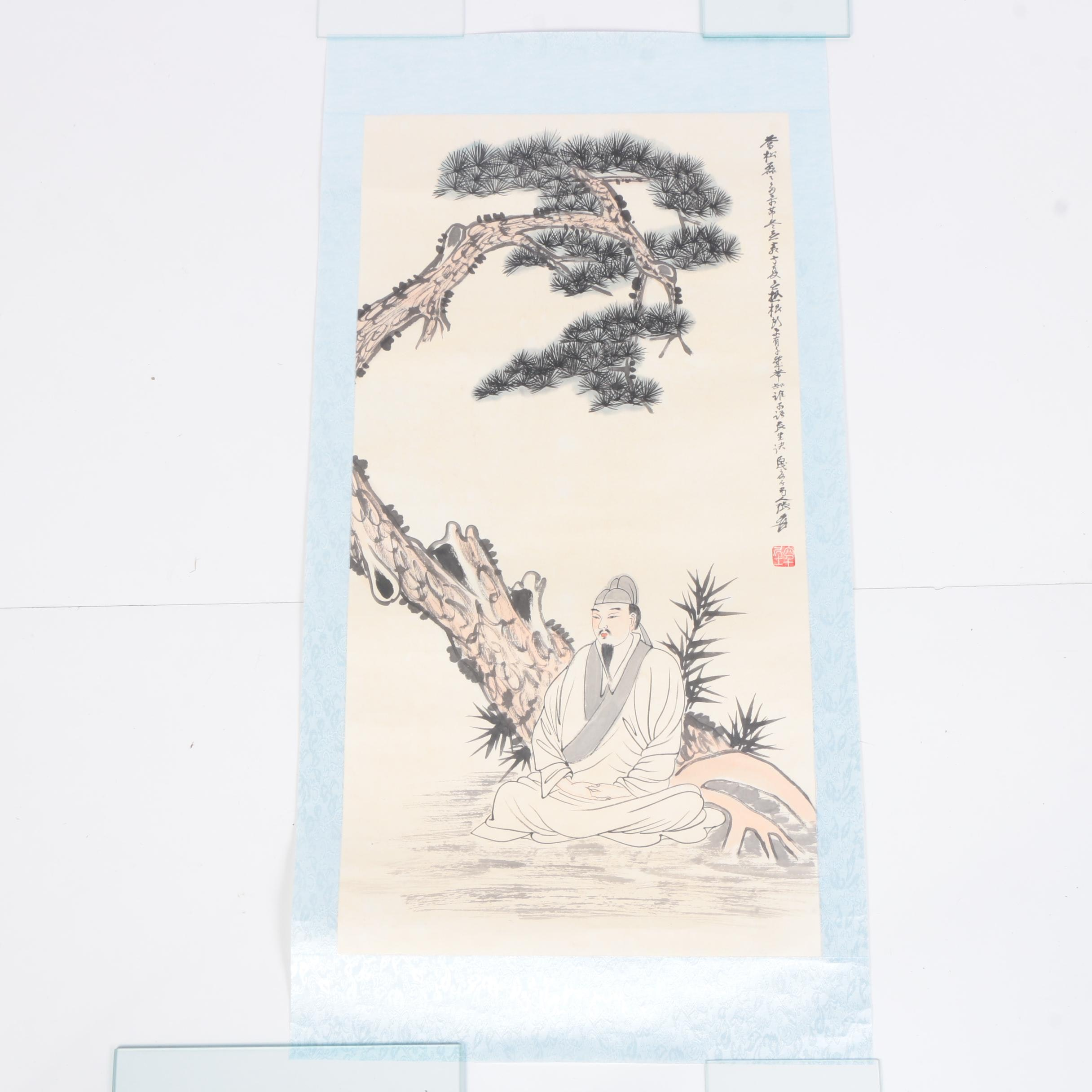 East Asian Ink and Watercolor Painting