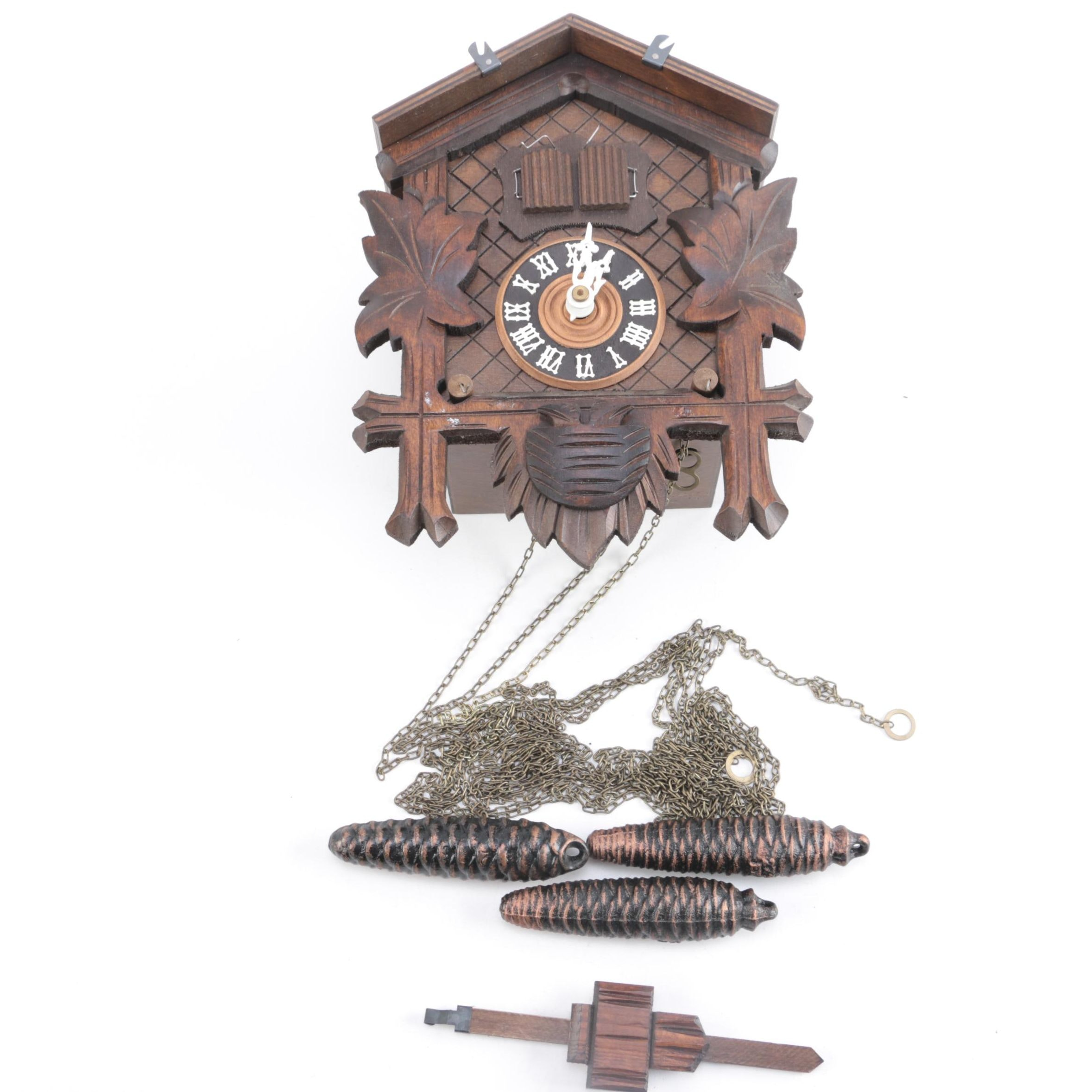 Black Forest Wood Cuckoo Clock