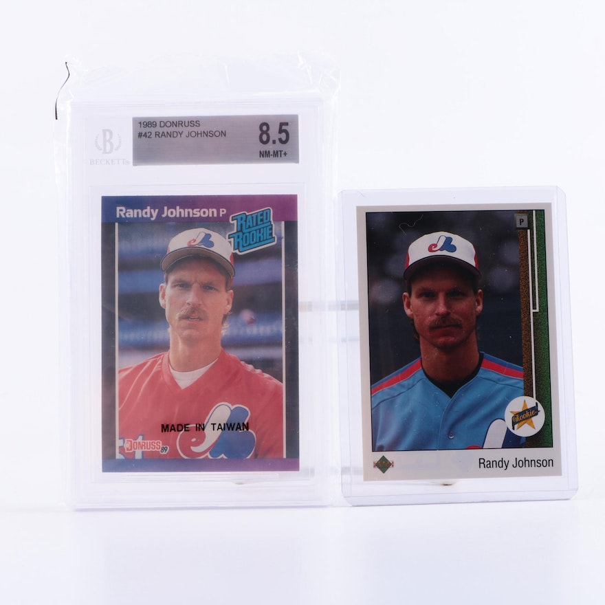 Randy Johnson Rookie Cards