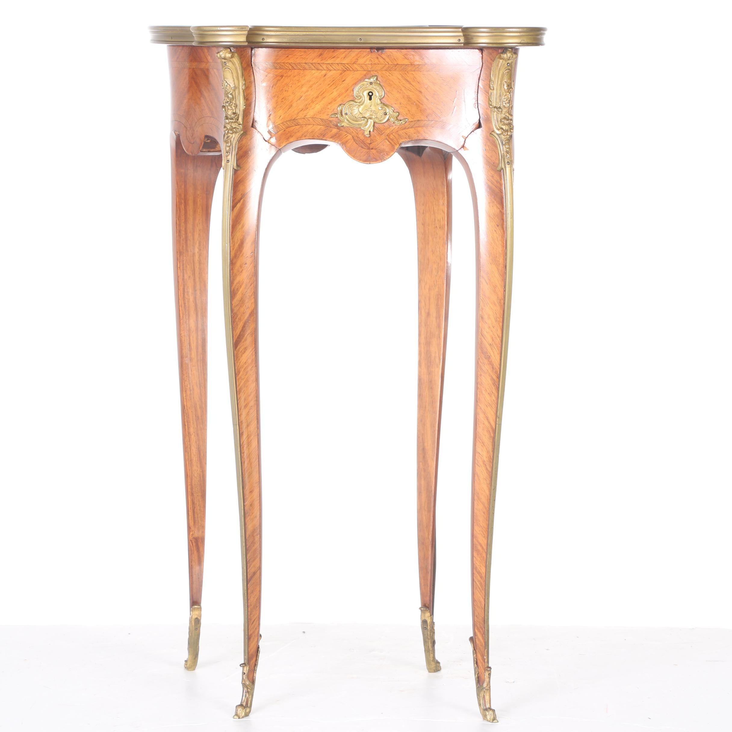 Antique Louis XV Style Accent Table