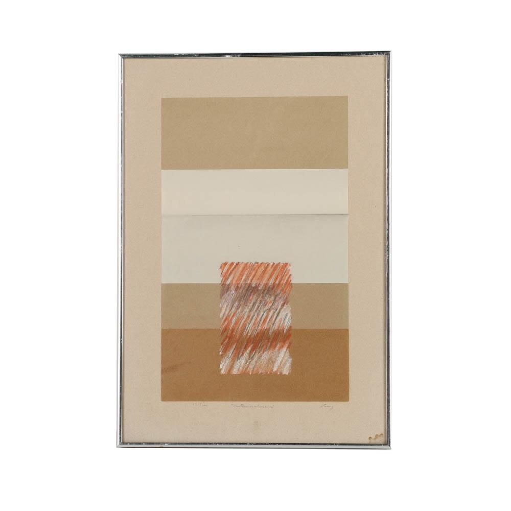 "Limited Edition Serigraph on Paper ""Metamorphosis II"""