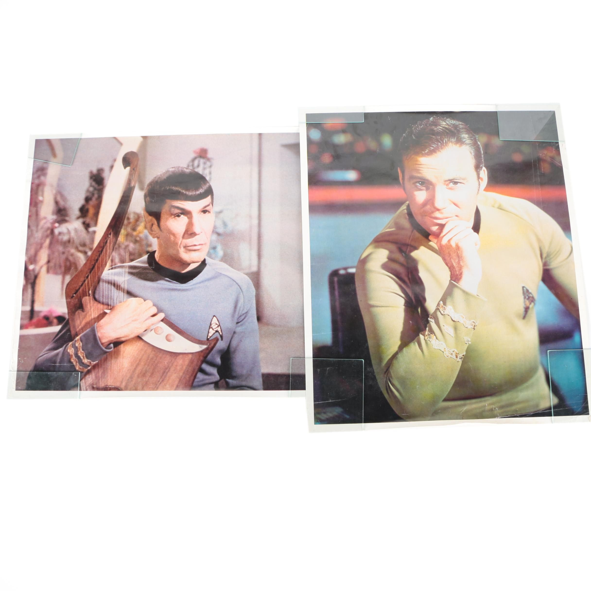 """Offset Lithograph Posters After Images From 1960s """"Star Trek"""" Television Series"""