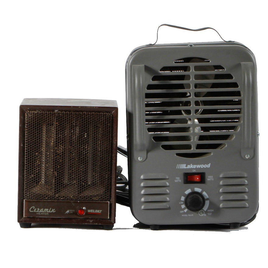 Lakewood And Ceramix By Welbilt Space Heaters Ebth
