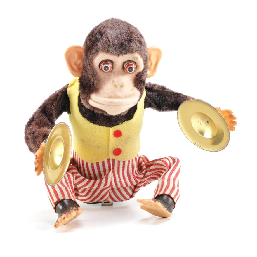 Ck Musical Jolly Chimp Battery Opperated Cymbal Monkey Toy Ebth