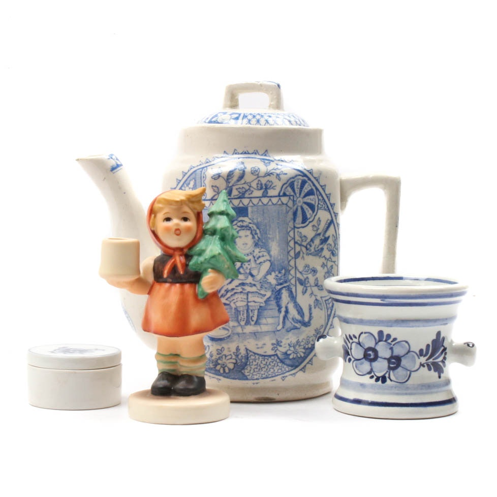 Decorative Collectibles Featuring Hummel and Delft